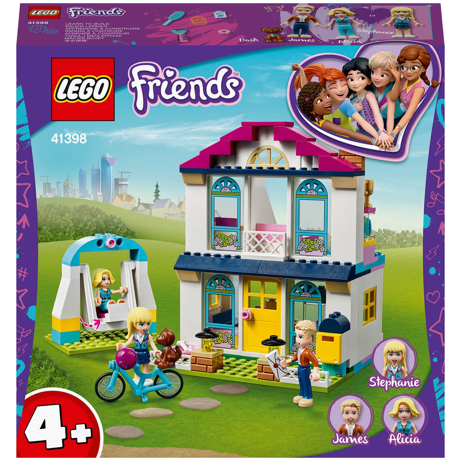 Image of 41398 LEGO® FRIENDS Stephanies family house