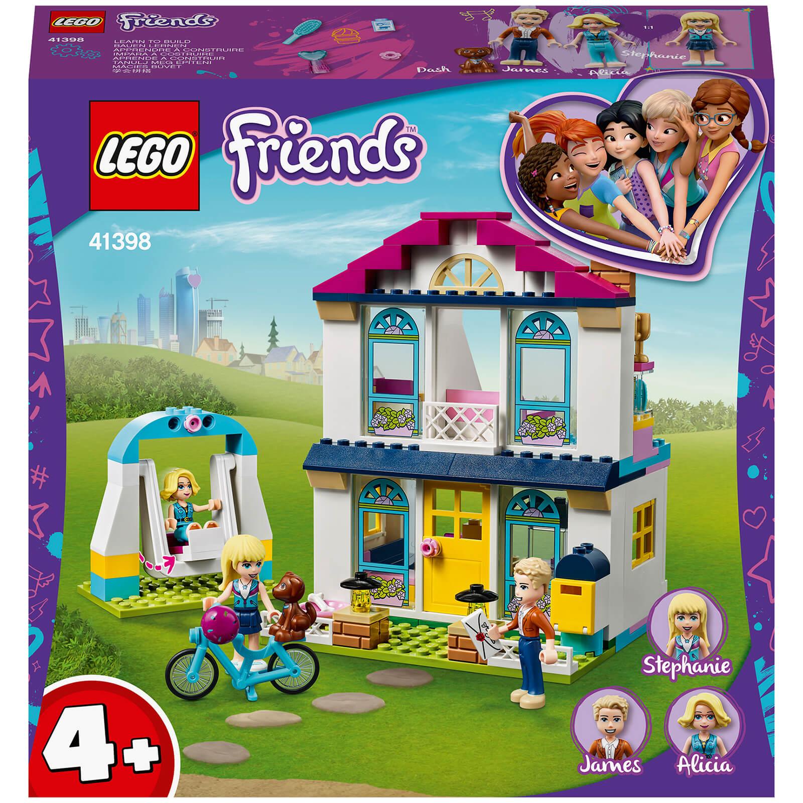 LEGO Friends: 4+ Stephanies House Mini Doll Play Set (41398)