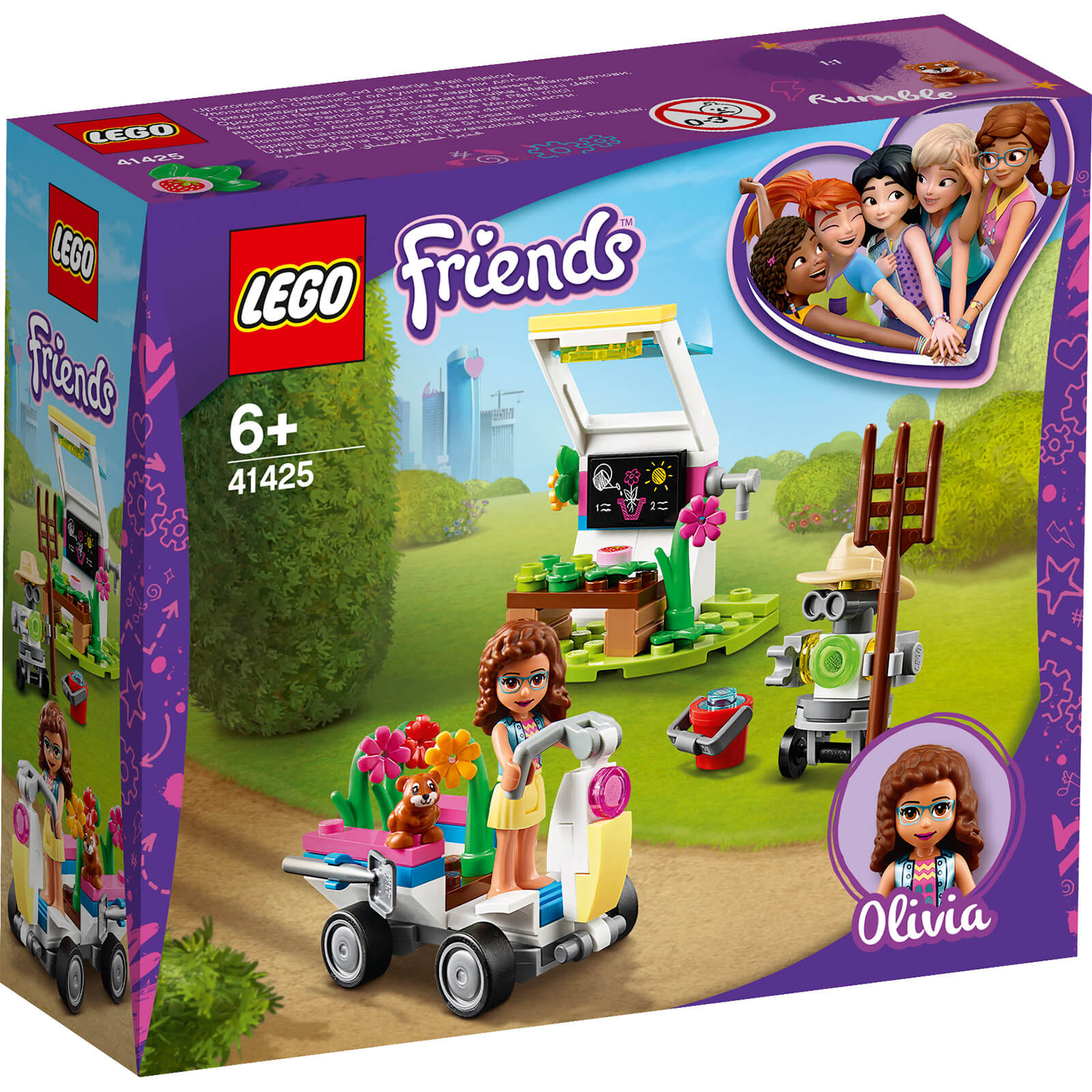 LEGO Friends: Olivias Flower Garden Play Set (41425)