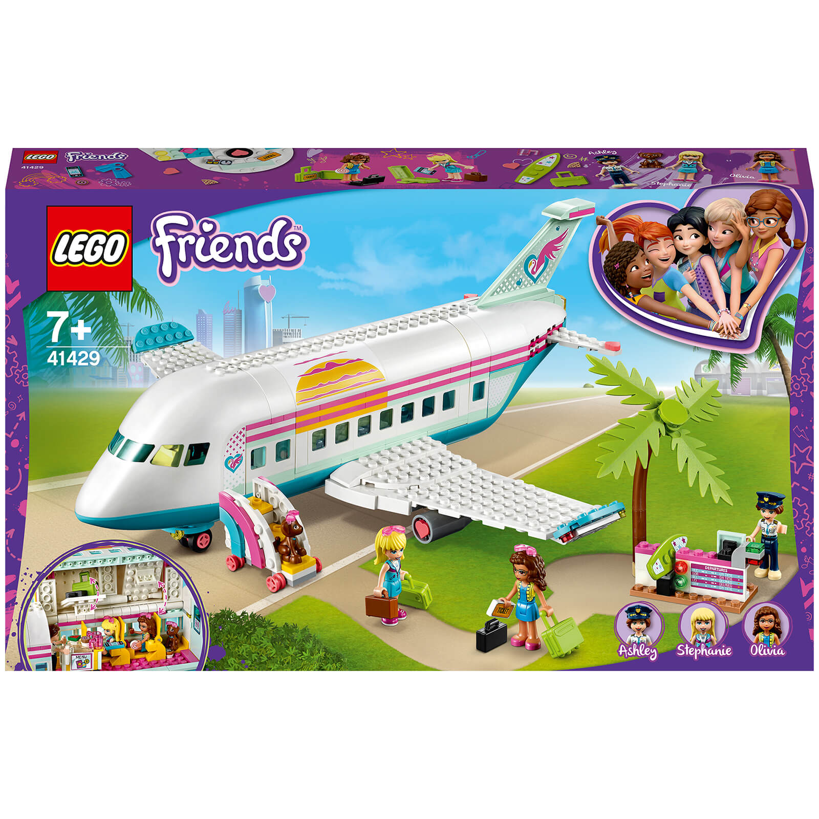 Image of 41429 LEGO® FRIENDS Heartlake City plane