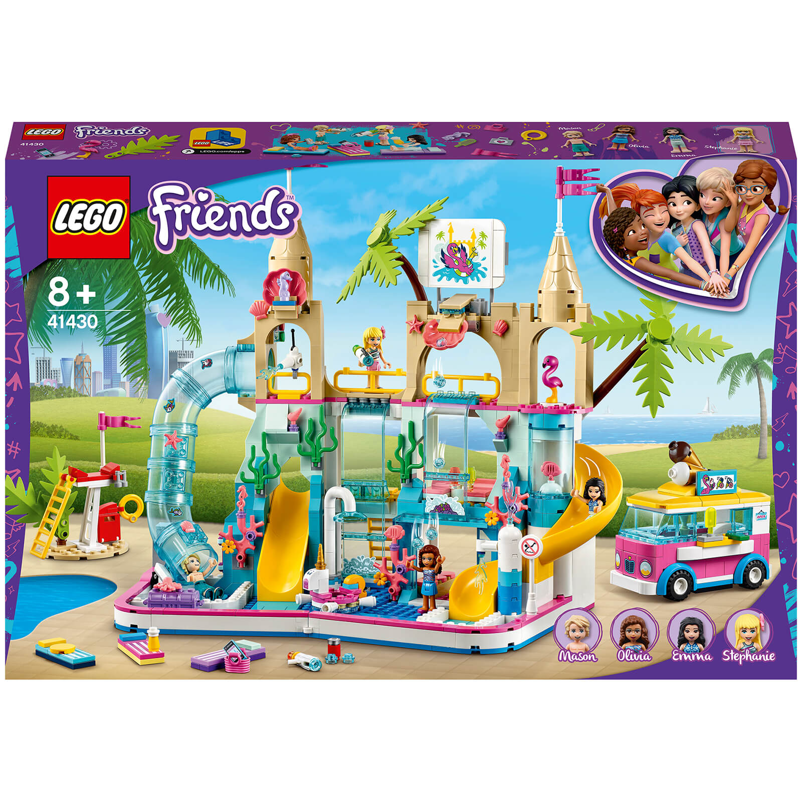 Image of 41430 LEGO® FRIENDS Heartlake City Water Park