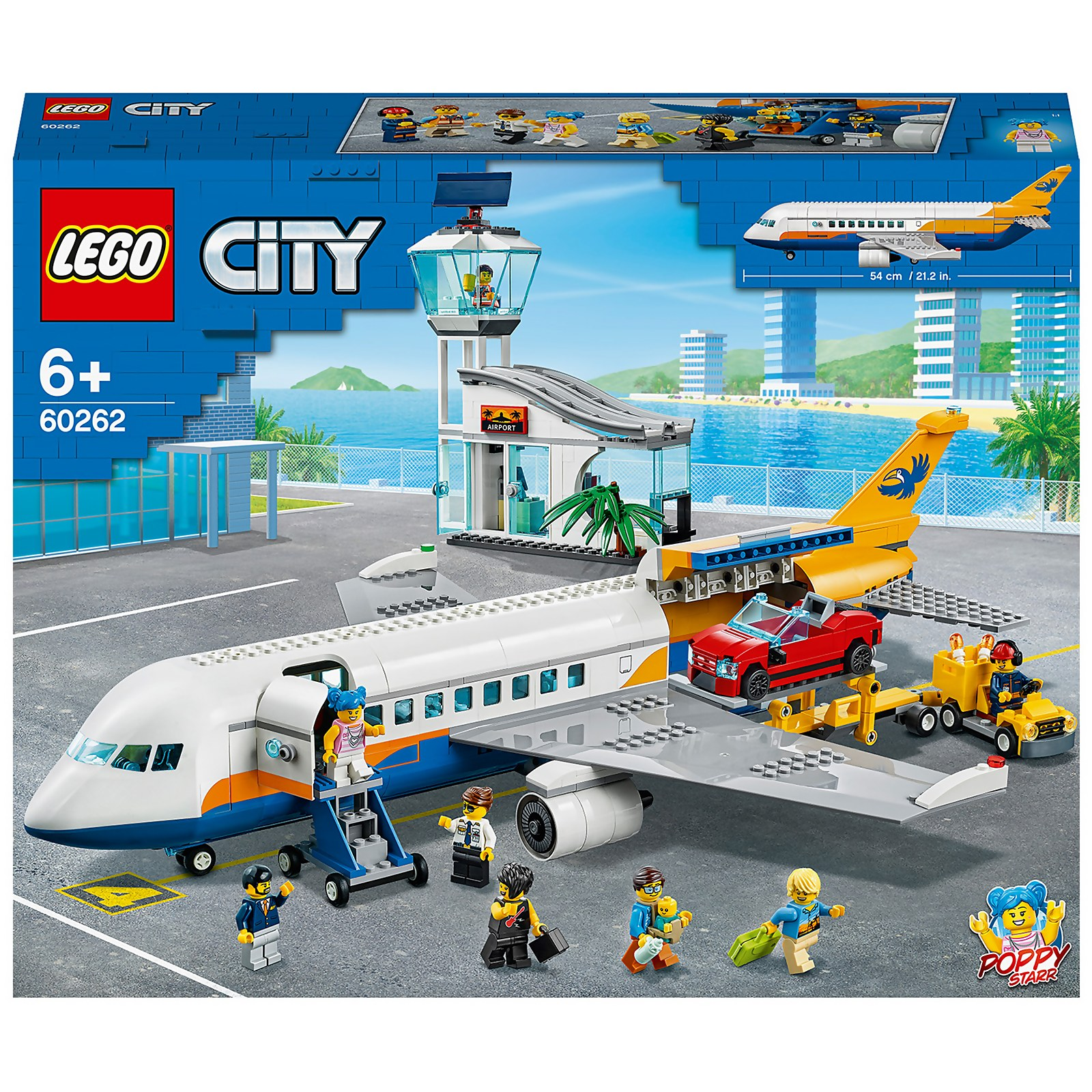 Image of 60262 LEGO® CITY Passenger Plane