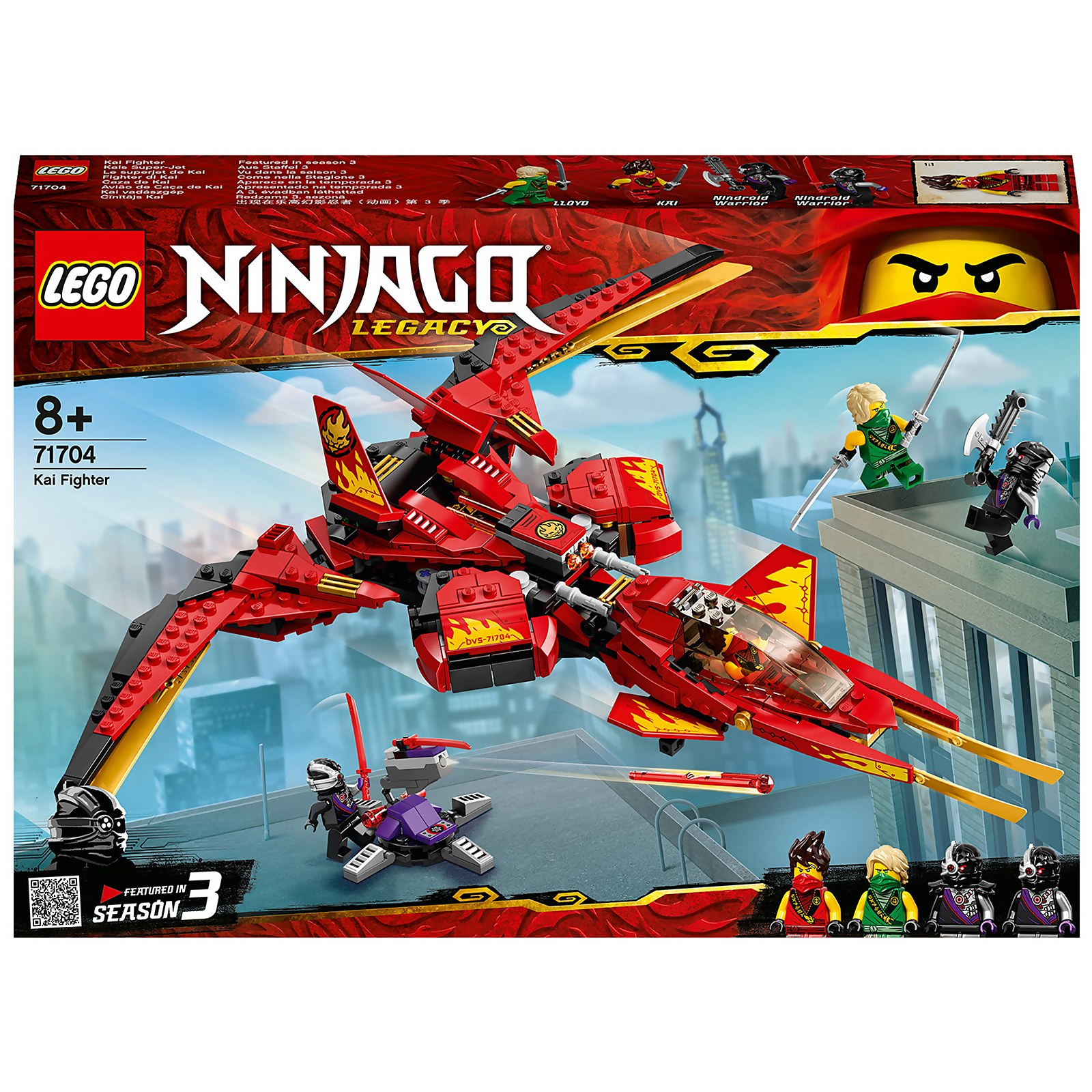 Image of 71704 LEGO® NINJAGO Kais super jet