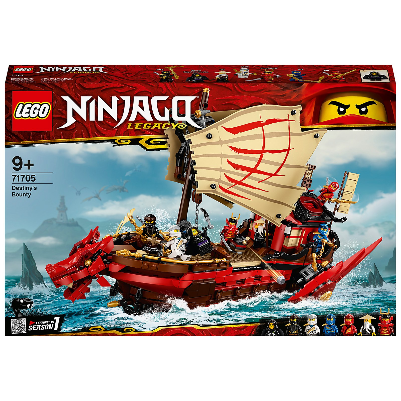 Image of 71705 LEGO® NINJAGO Ninja-Flying sailer