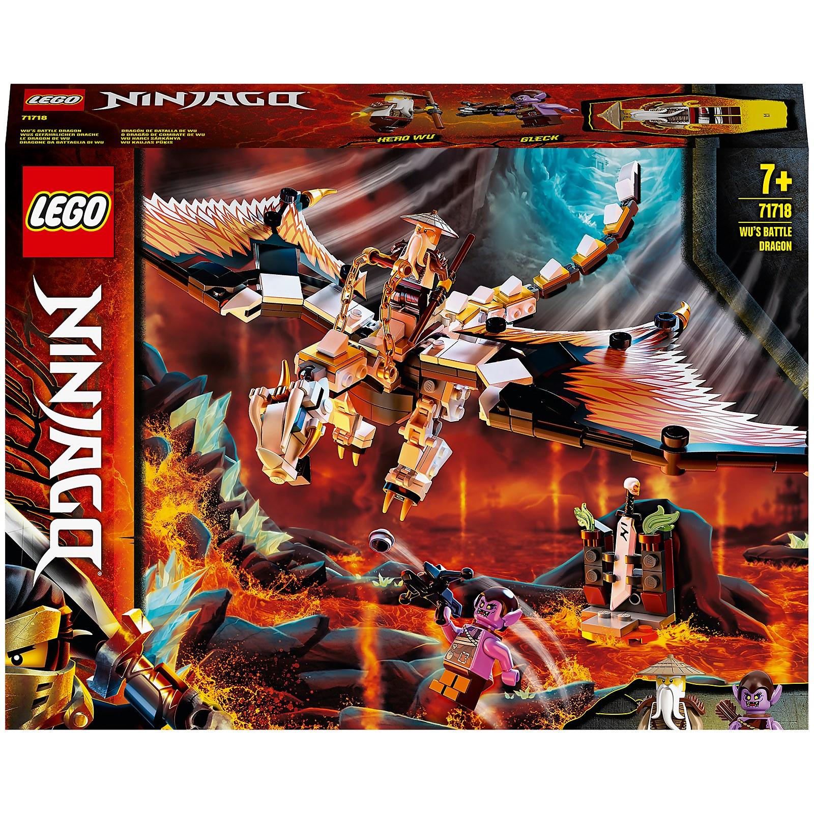 Image of 71718 LEGO® NINJAGO WUs dangerous dragon