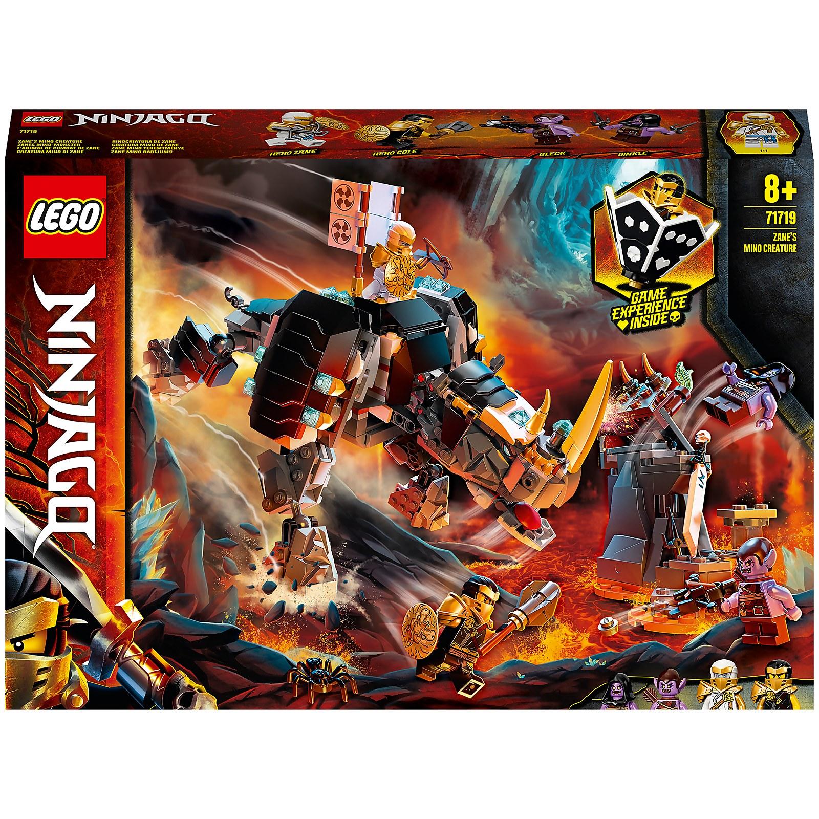 Image of 71719 LEGO® NINJAGO Zanes Mino Monster