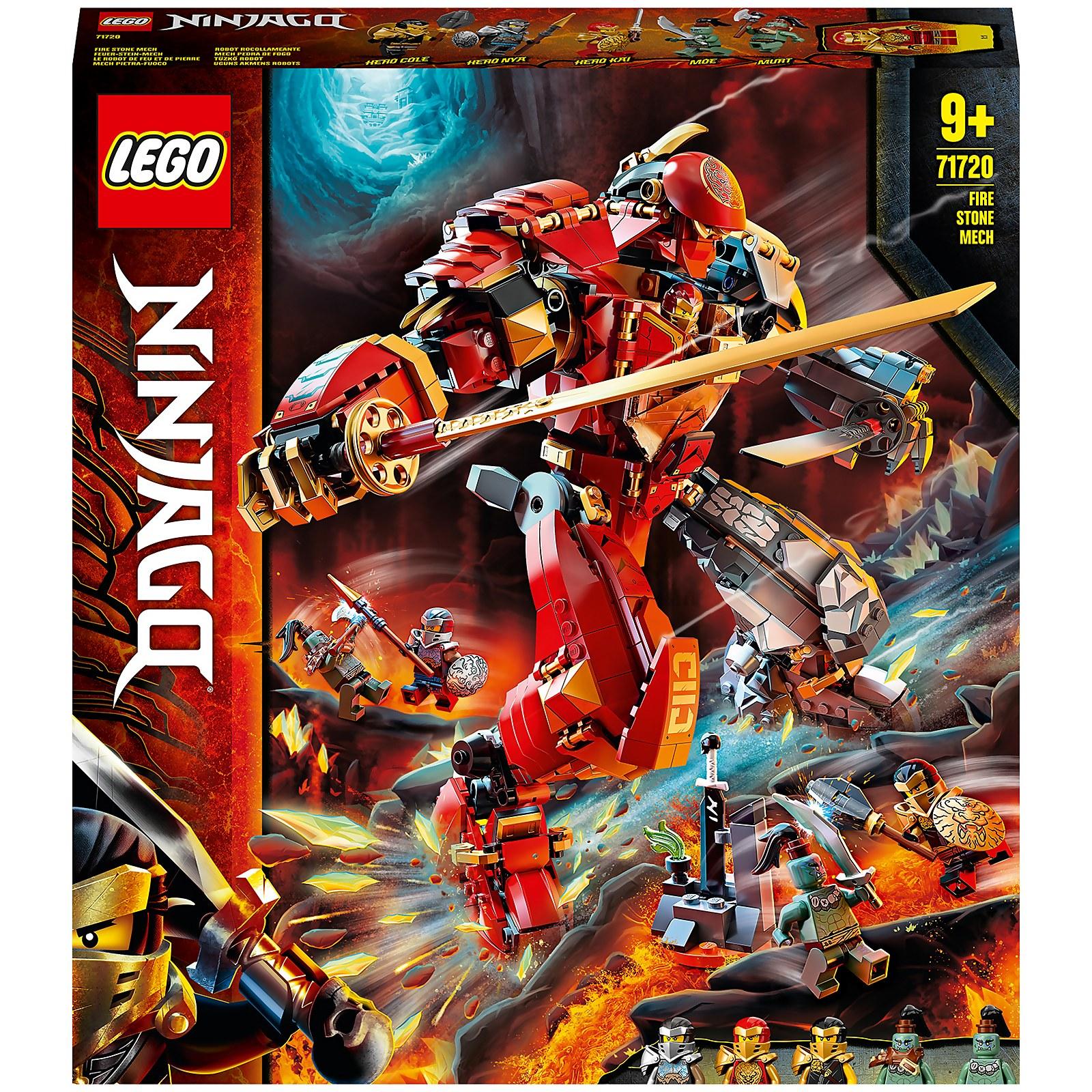 Image of 71720 LEGO® NINJAGO Fire stone Mech