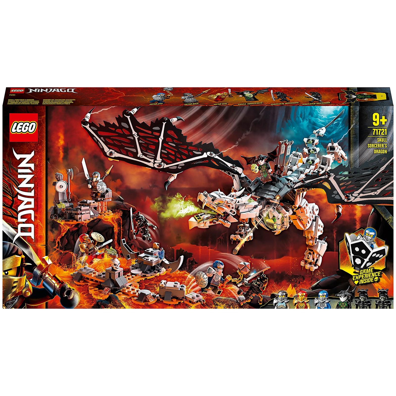 Image of 71721 LEGO® NINJAGO Dragon of the Dead Head Magician
