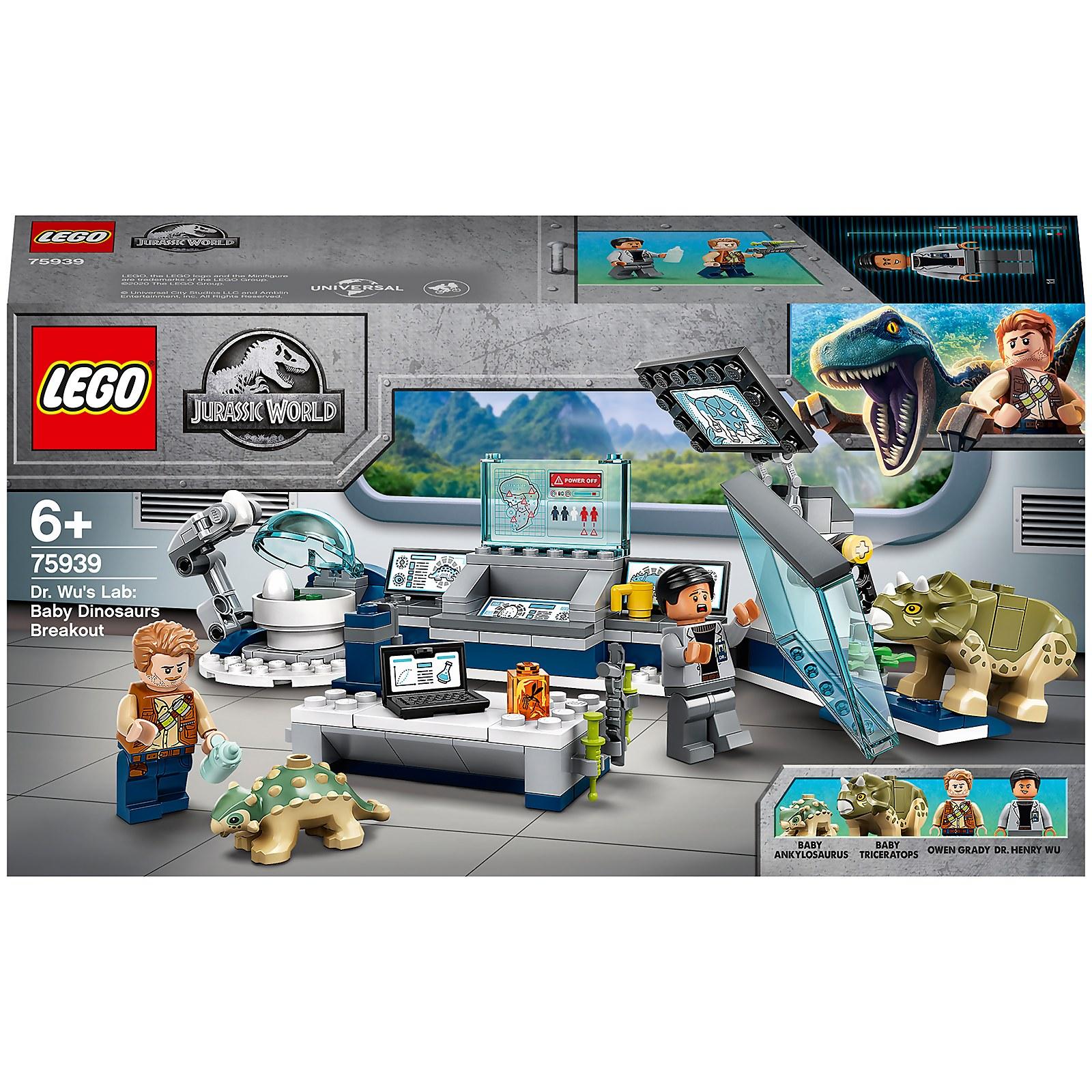 LEGO Jurassic World Baby Dinosaur Lab Breakout - 75939