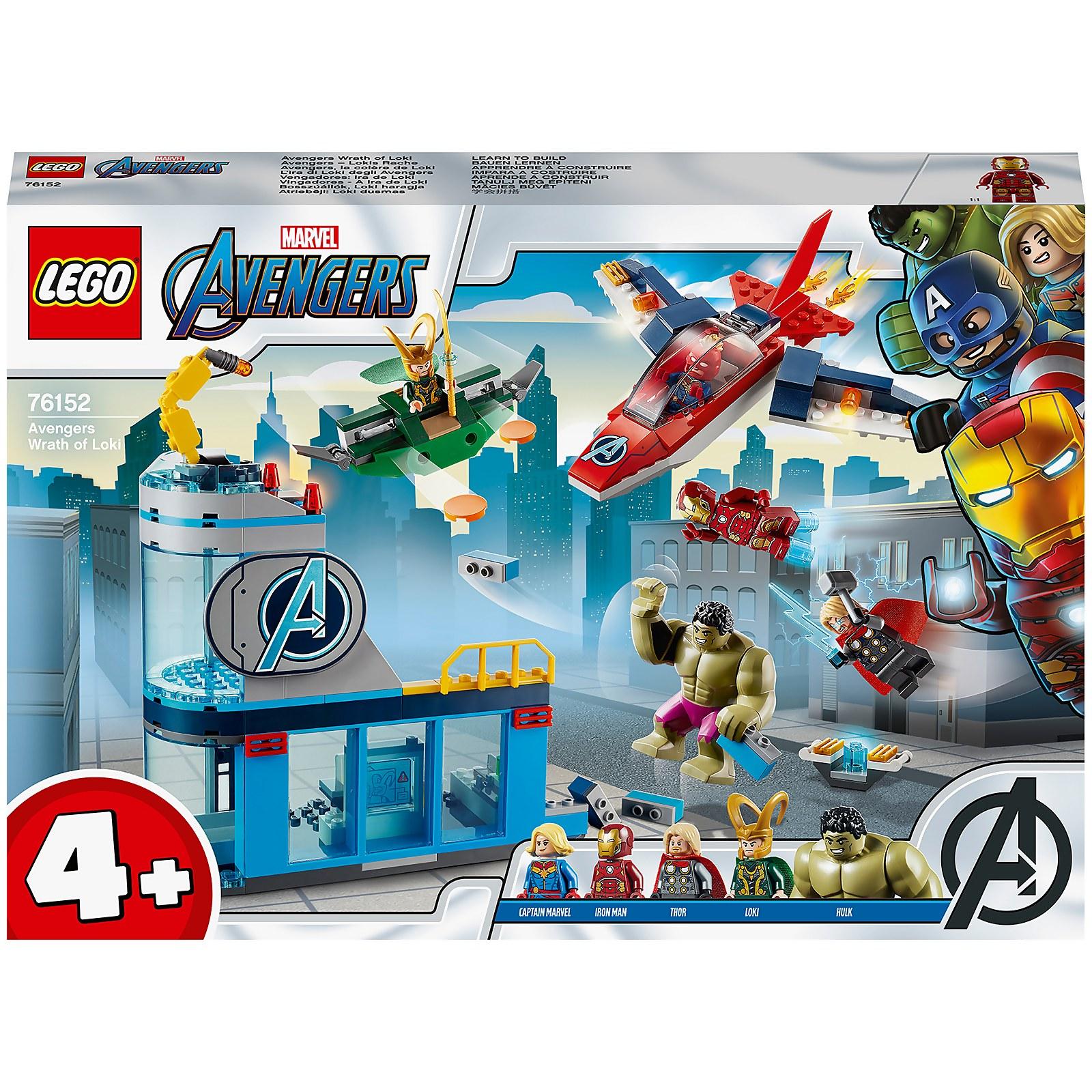 LEGO Marvel 4+ Avengers Wrath Of Loki Set (76152)