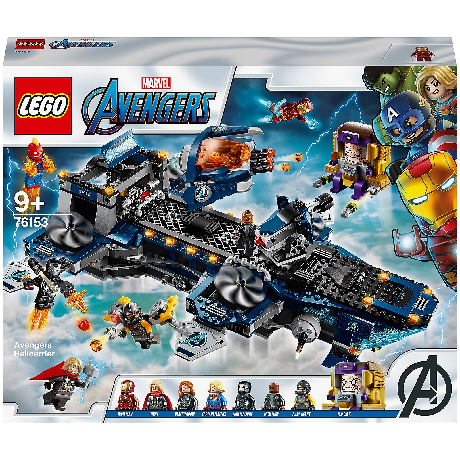 Image of 76153 LEGO® MARVEL SUPER HEROES Avengers Helicarrier