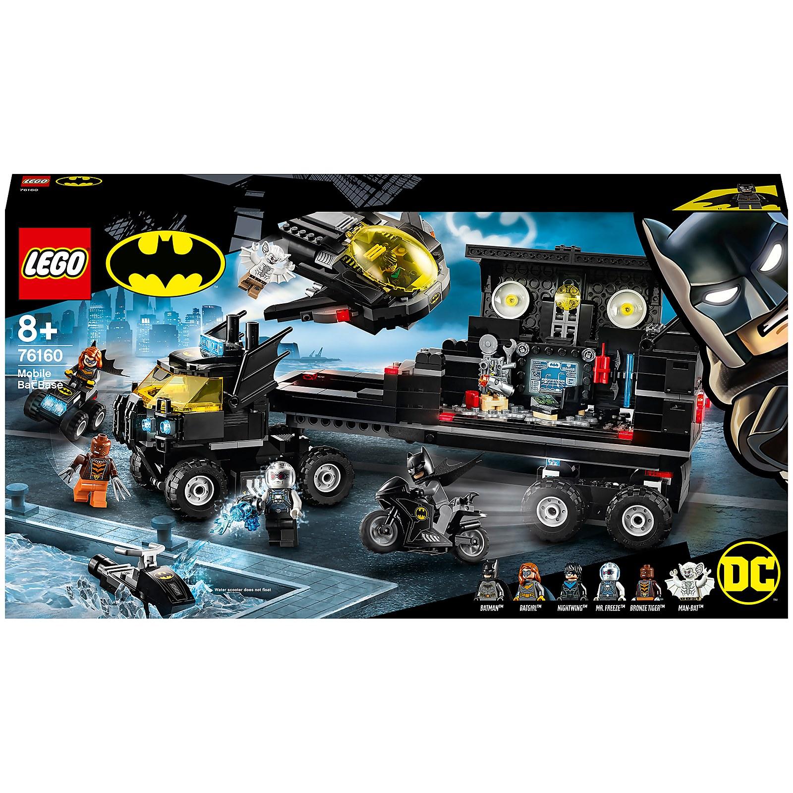 Image of 76160 LEGO® DC COMICS SUPER HEROES Mobile Batbase