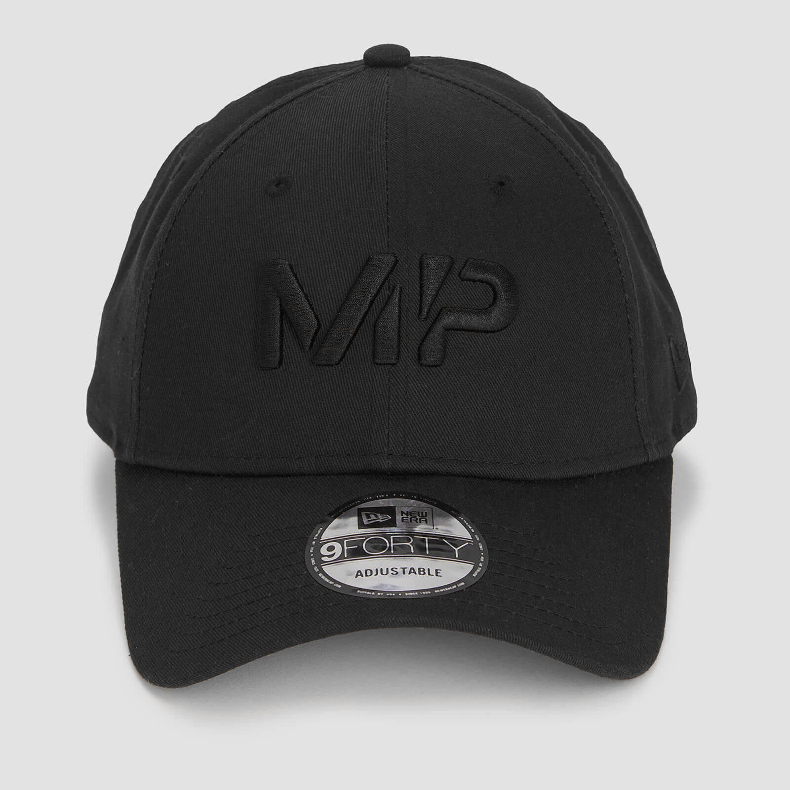 MP New Era 9FORTY Baseball Cap - Black/Black