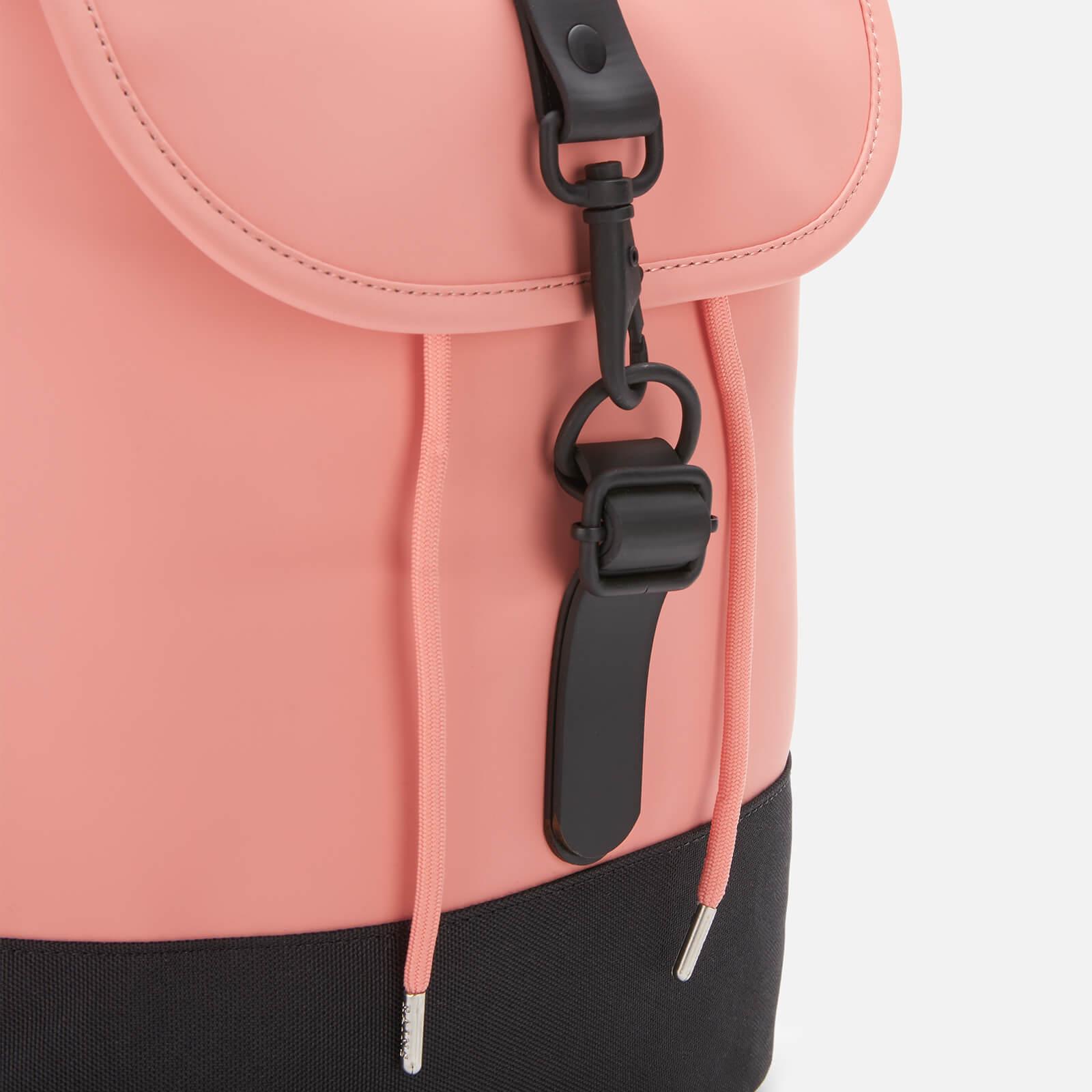 Rains Drawstring Backpack - Coral