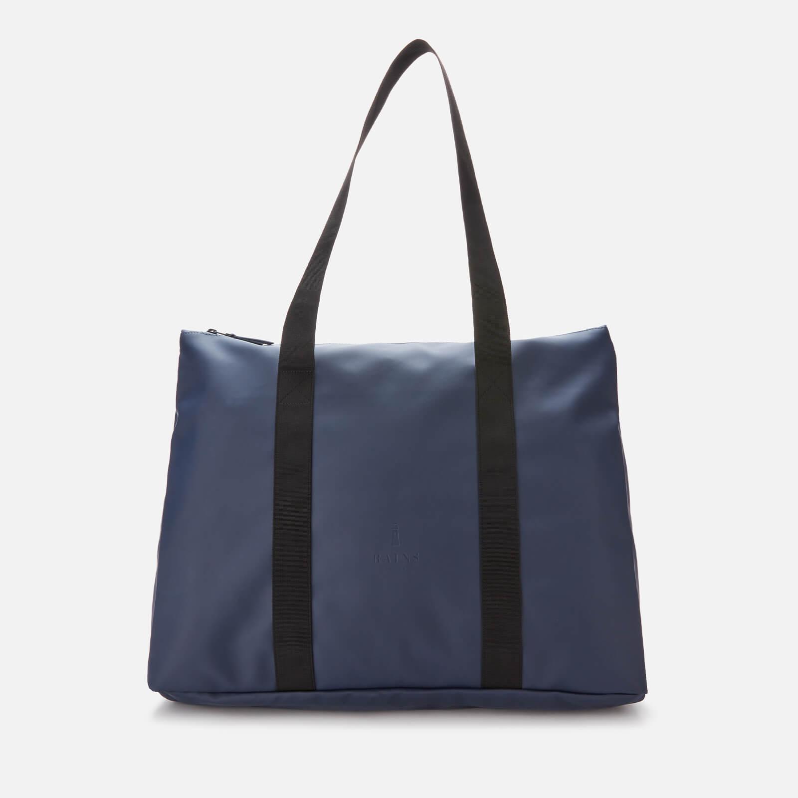 rains city tote bag - blue