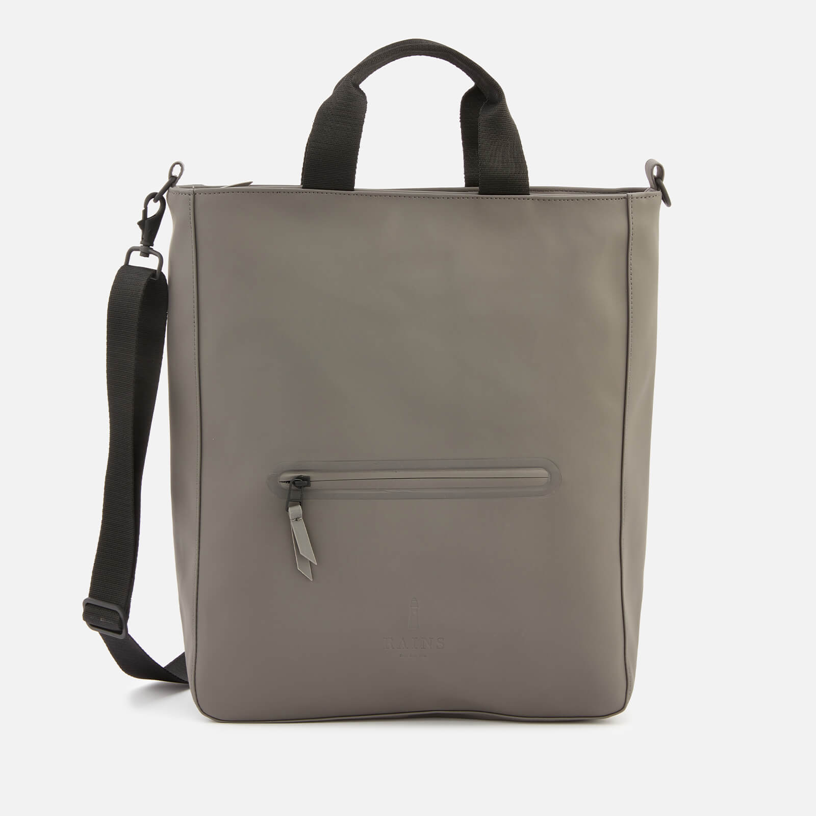 Click to view product details and reviews for Rains Cross Body Tote Bag Charcoal.