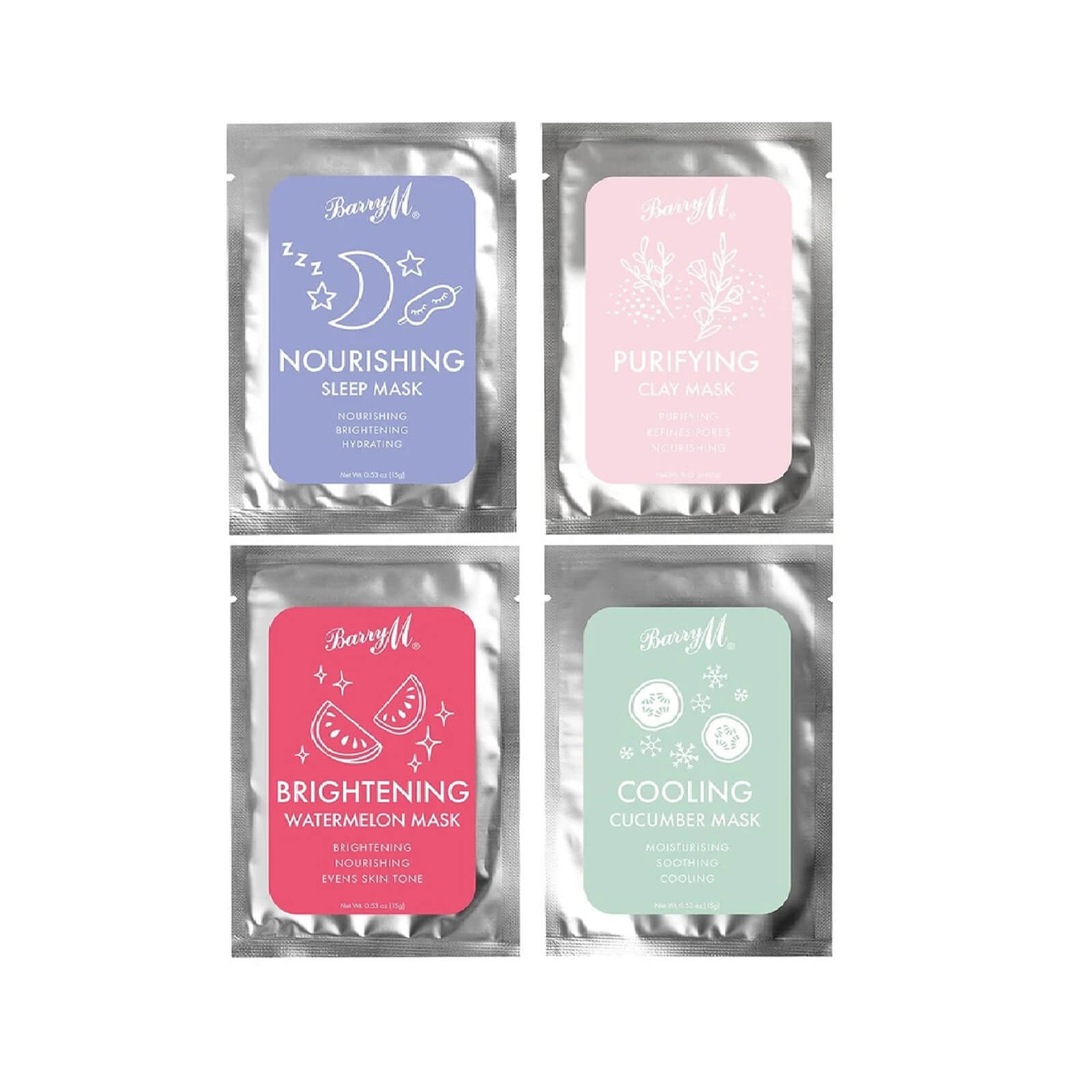 Barry M Cosmetics Relax & Recharge Face Mask Pack  - Купить