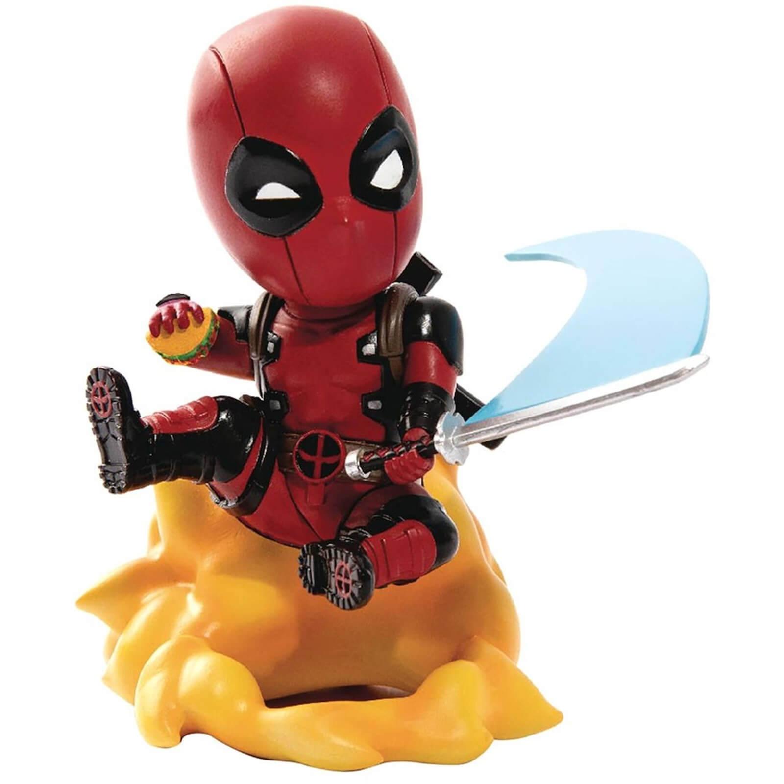 Image of Beast Kingdom Marvel Comics Deadpool Ambush Mini Egg Attack Figure