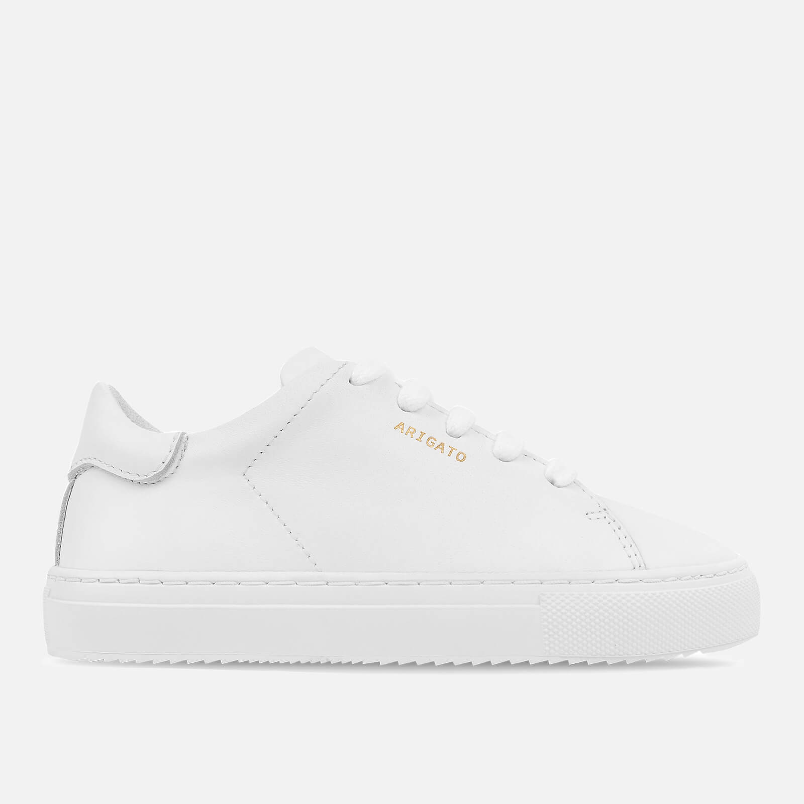 Axel Arigato Kids' Clean 90 Leather Cupsole Trainers - White - UK 2 Kids