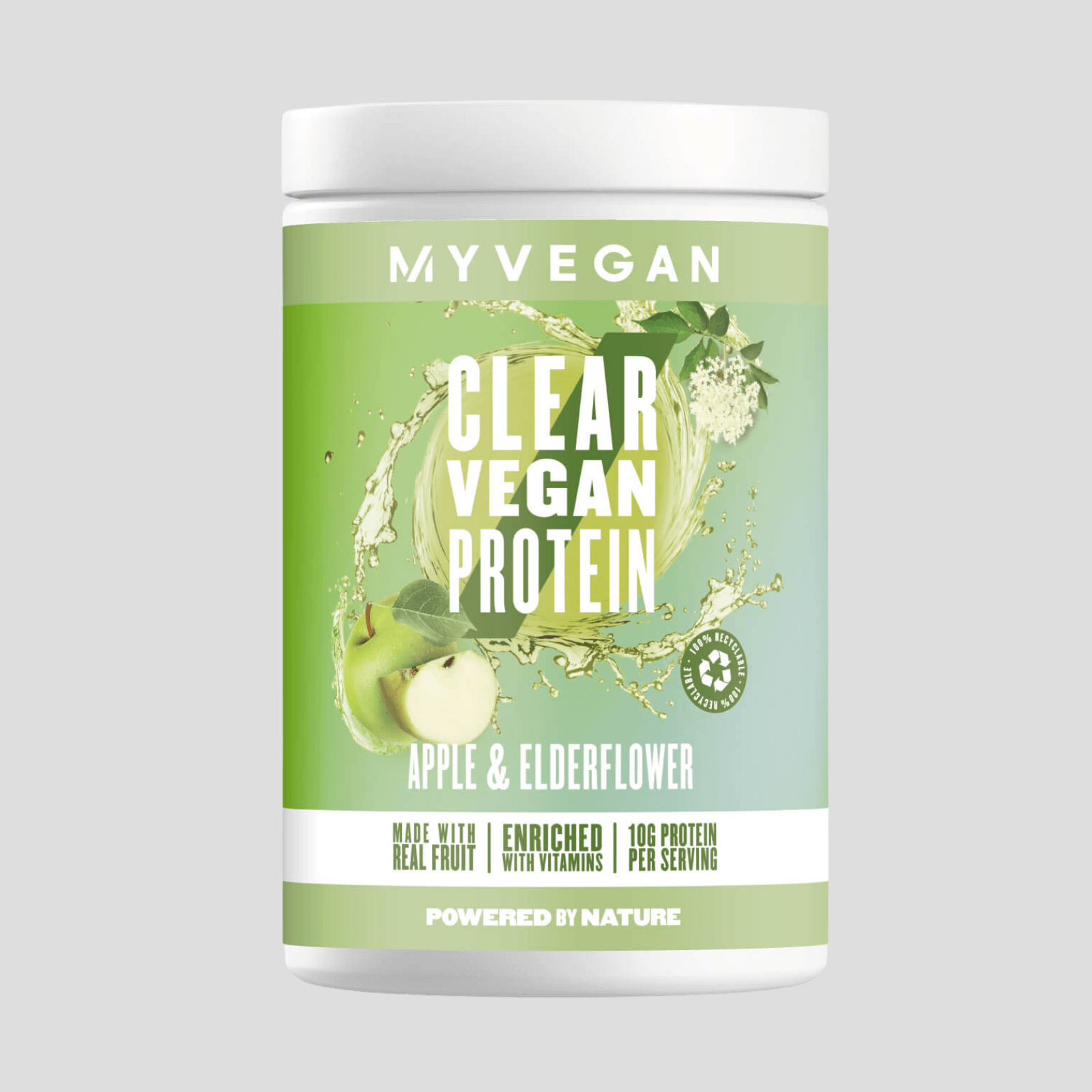 Clear Vegan Protein - 20servings - Apple & Elderflower