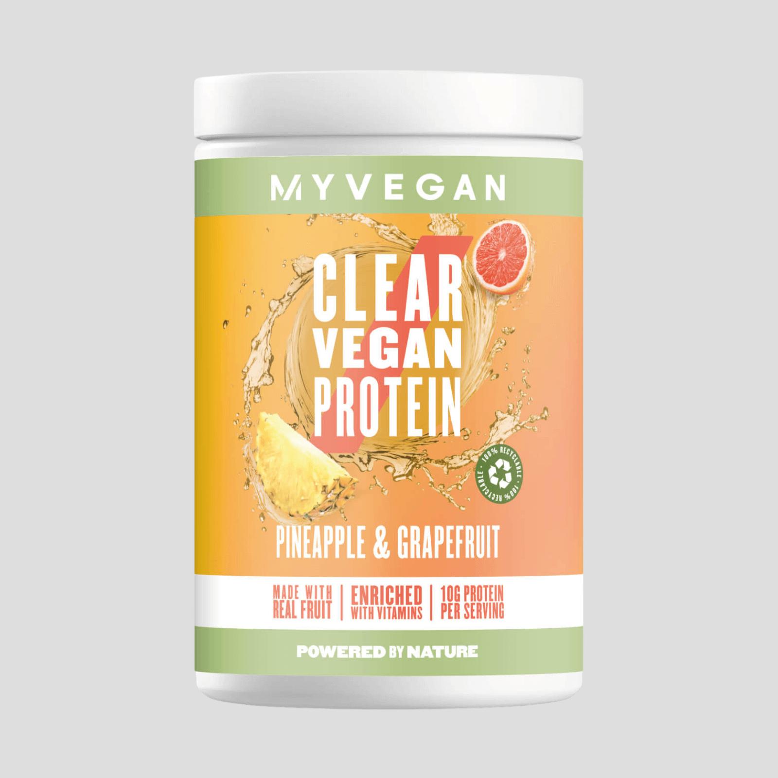 Clear Vegan Protein - 20servings - Pineapple & Grapefruit