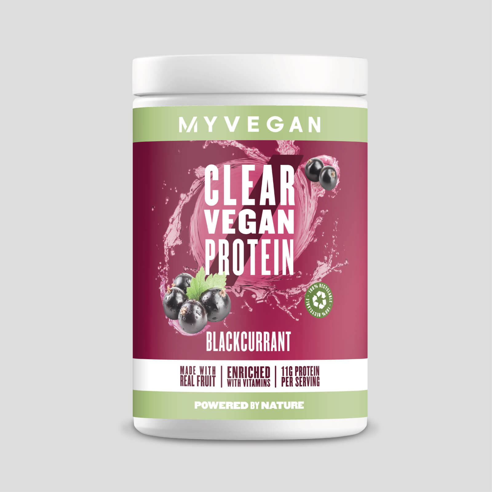 Clear Vegan Protein - Blackcurrant