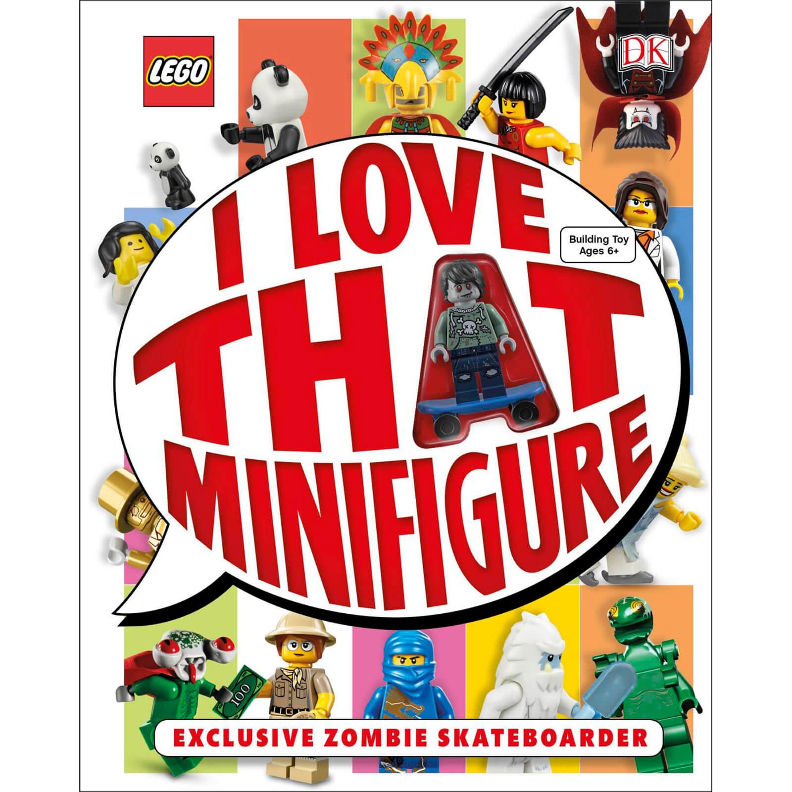 DK Books LEGO I Love That Minifigure Hardback