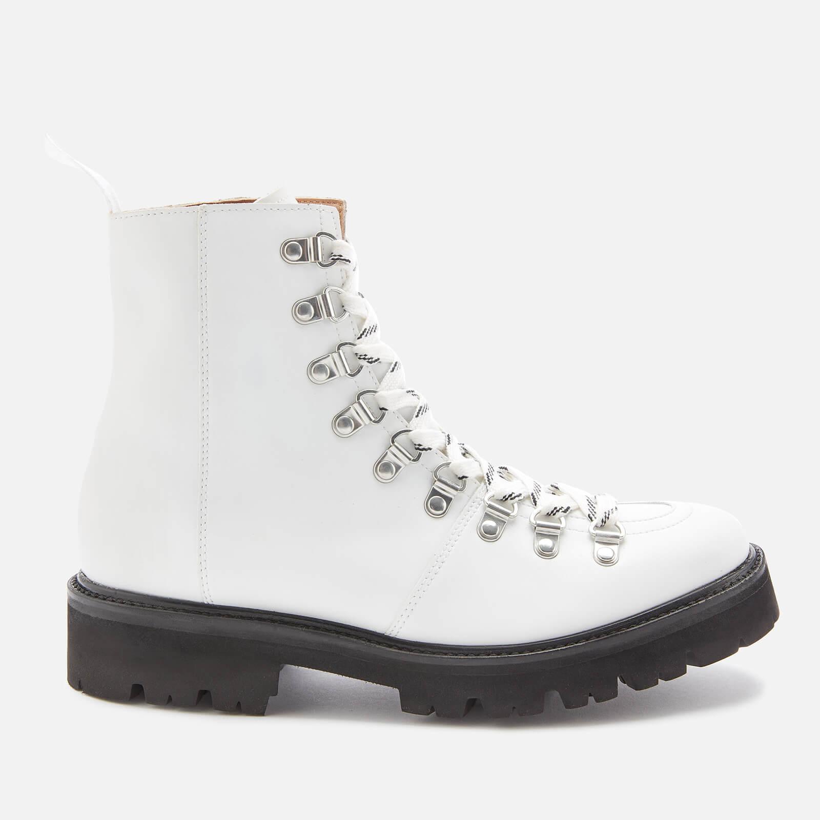 Grenson Women's Nanette Vegan Hiking Style Boots - White - Uk 3