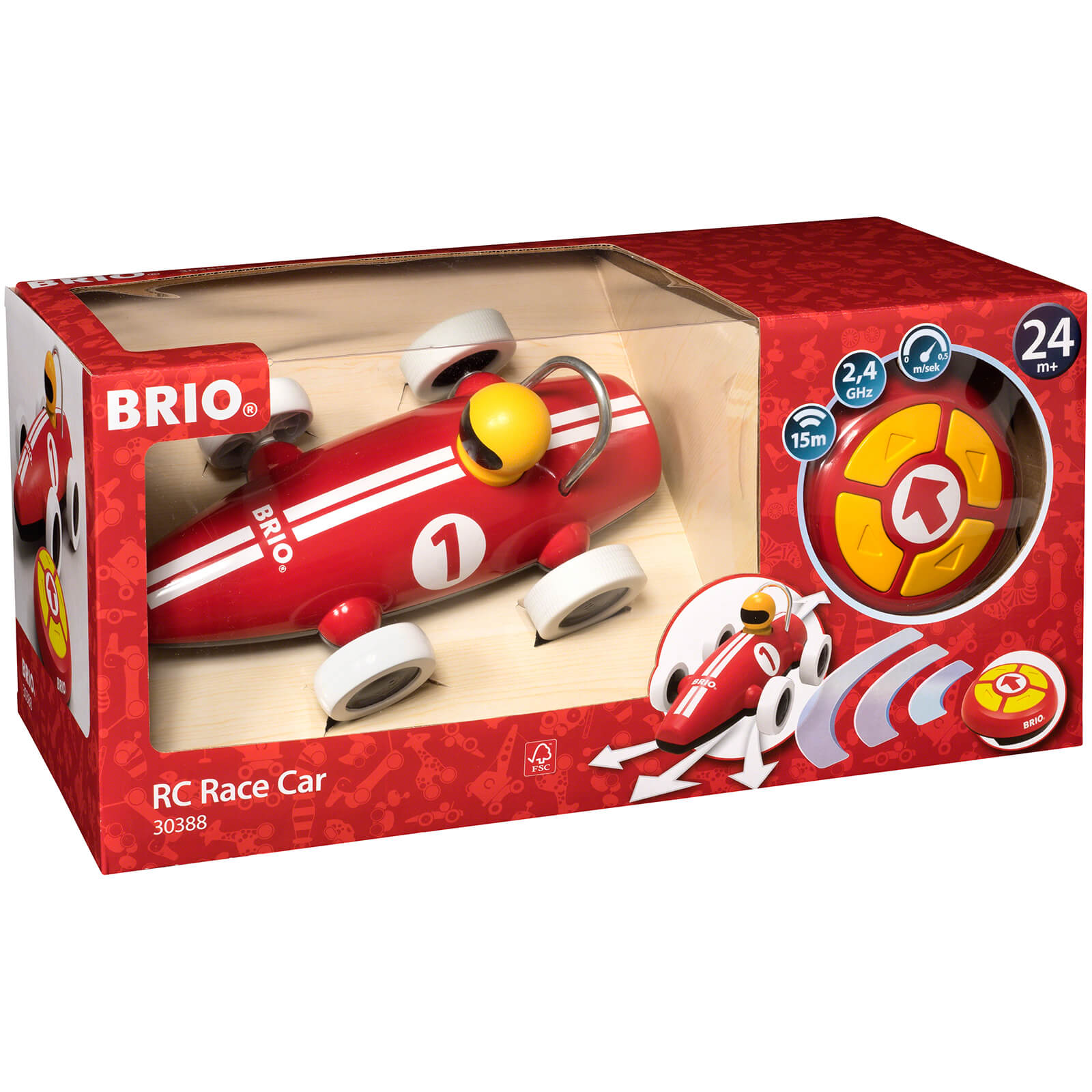 Brio Remote Control Race Car