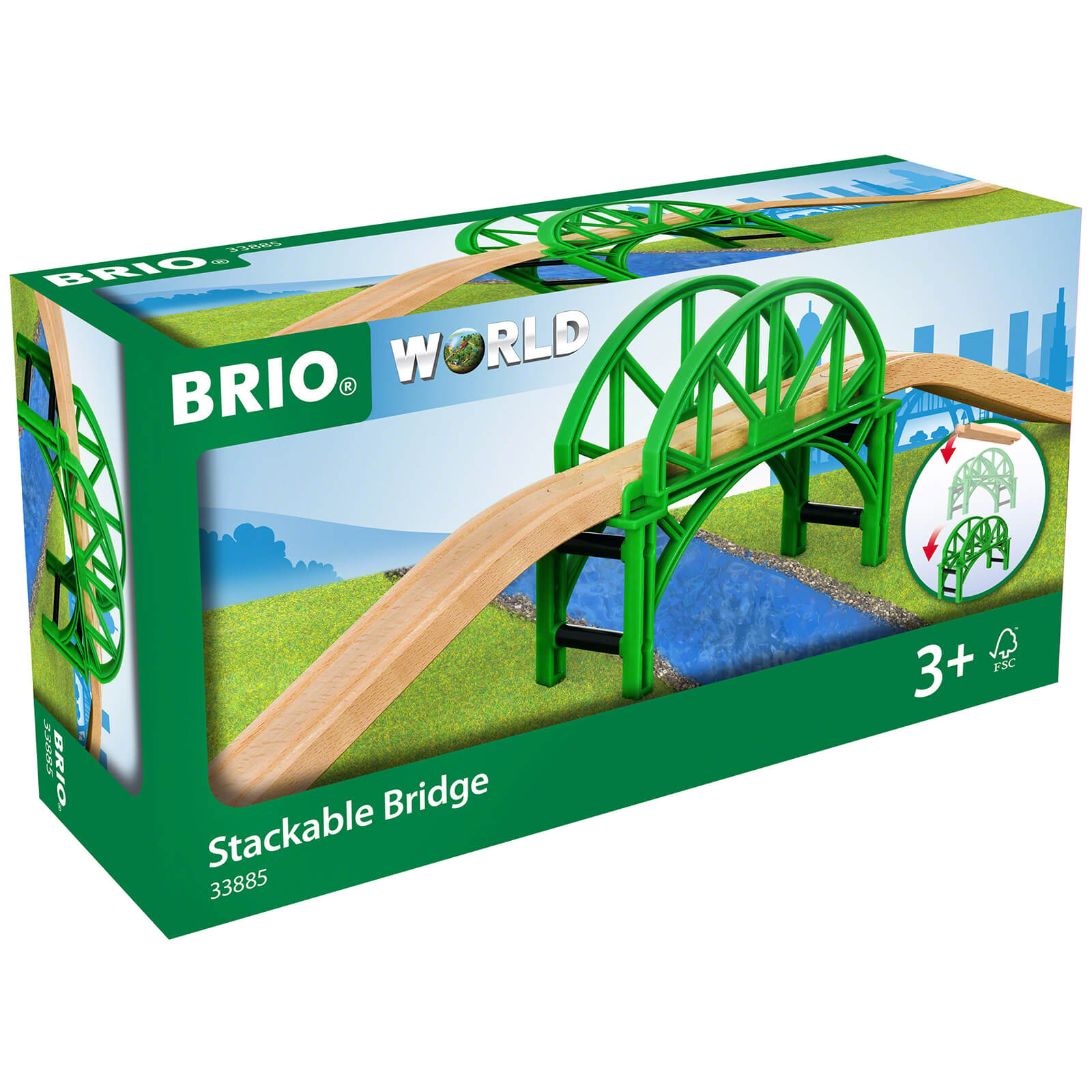 Brio Stackable Bridge