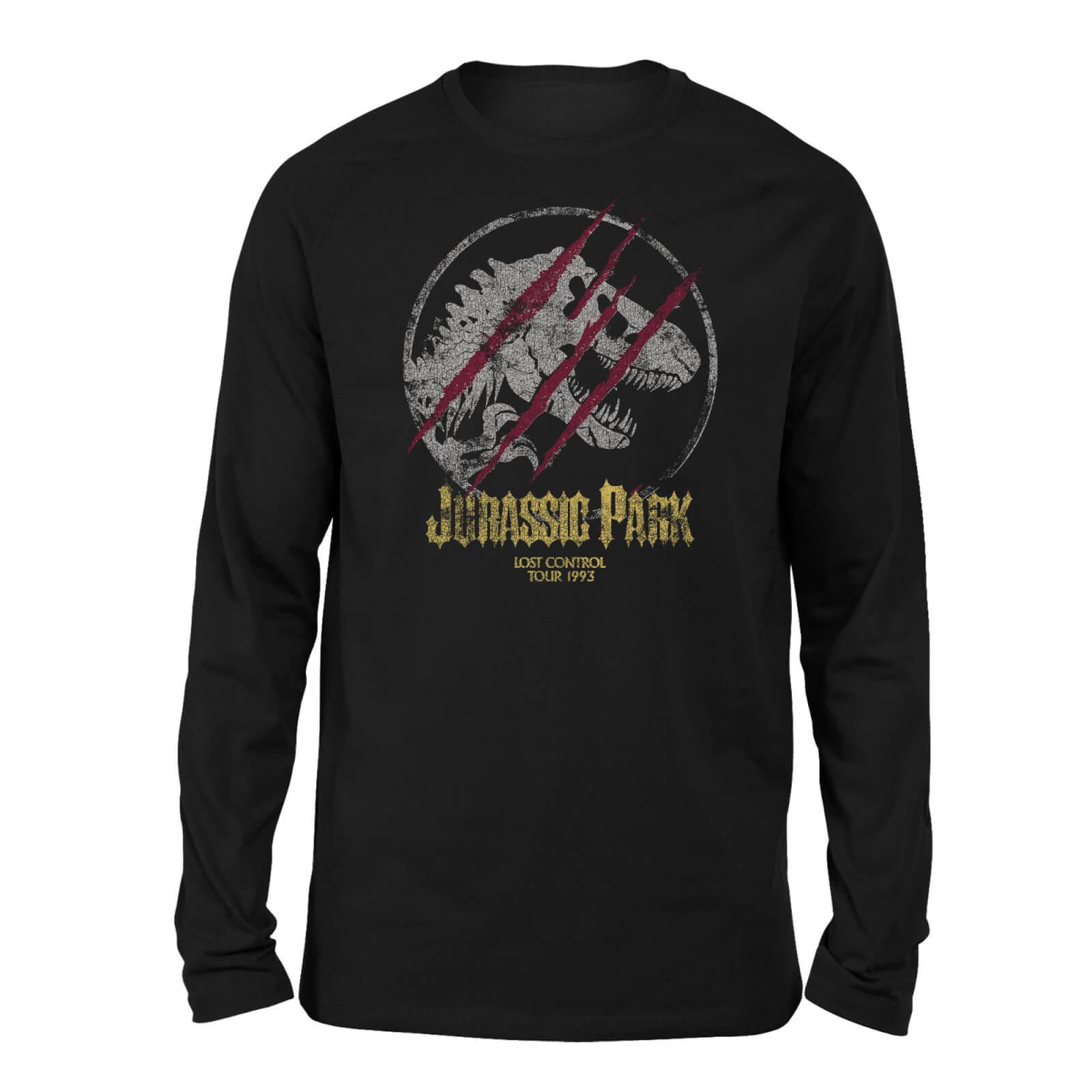Jurassic Park Lost Control Unisex Long Sleeved T-Shirt - Black - XL
