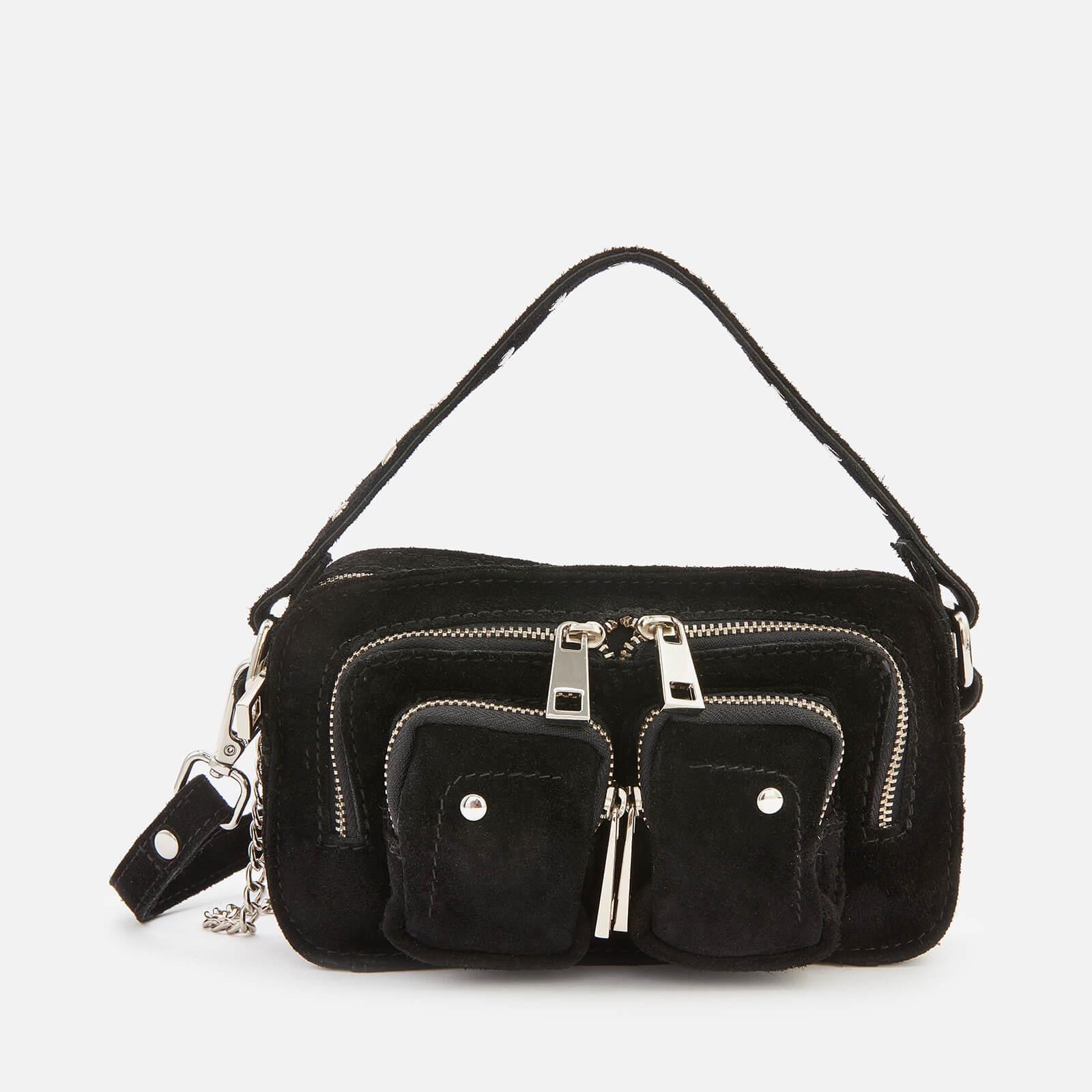 Núnoo Women's Helena New Suede Cross Body Bag - Black