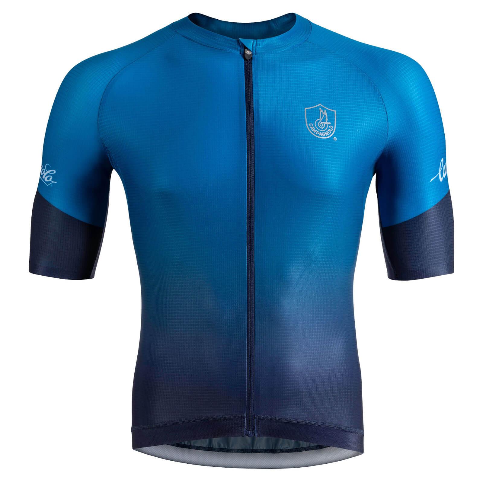Nalini Campagnolo Platino Jersey - L - Blue/Navy Blue