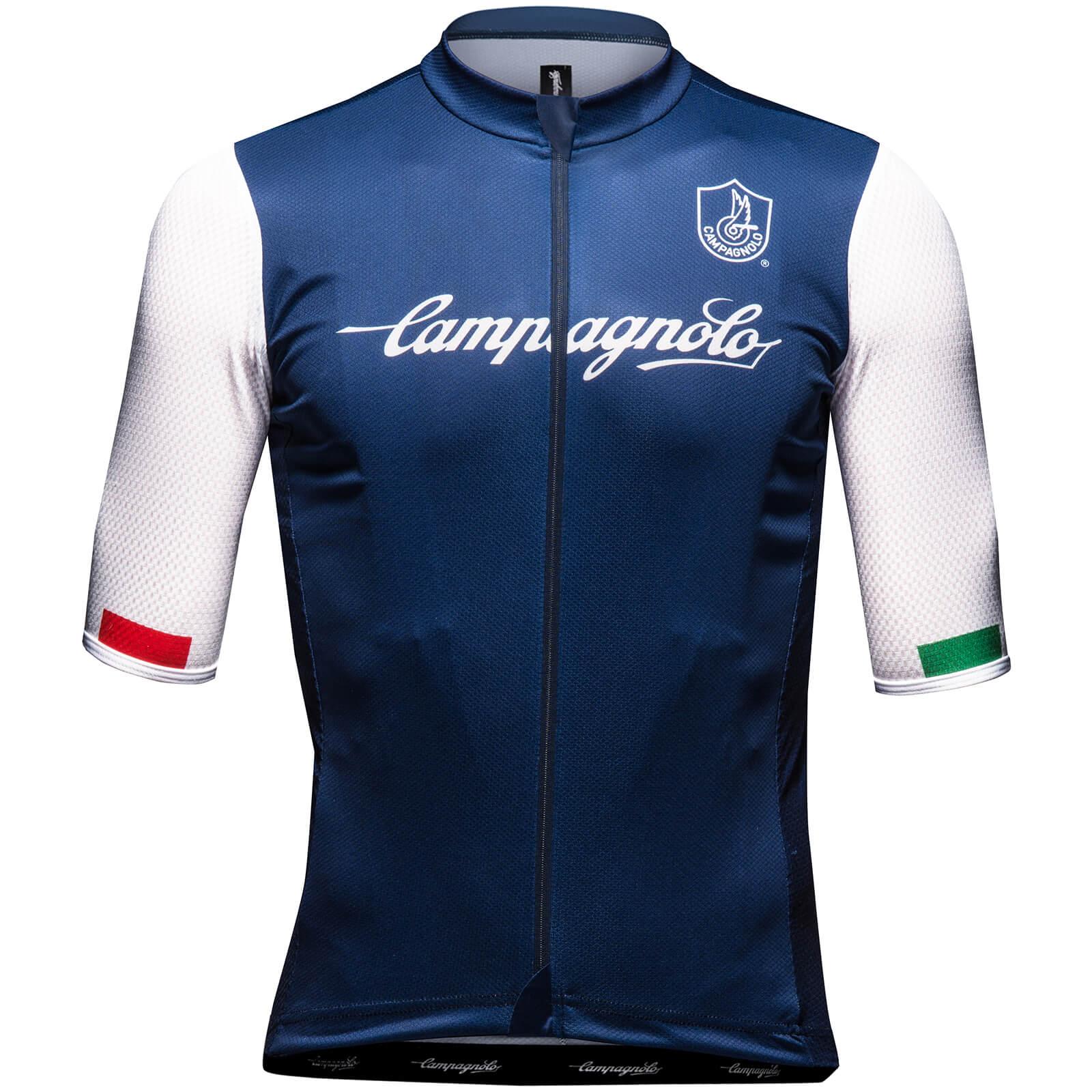 Nalini Campagnolo Iridio Jersey - L - Blue/White