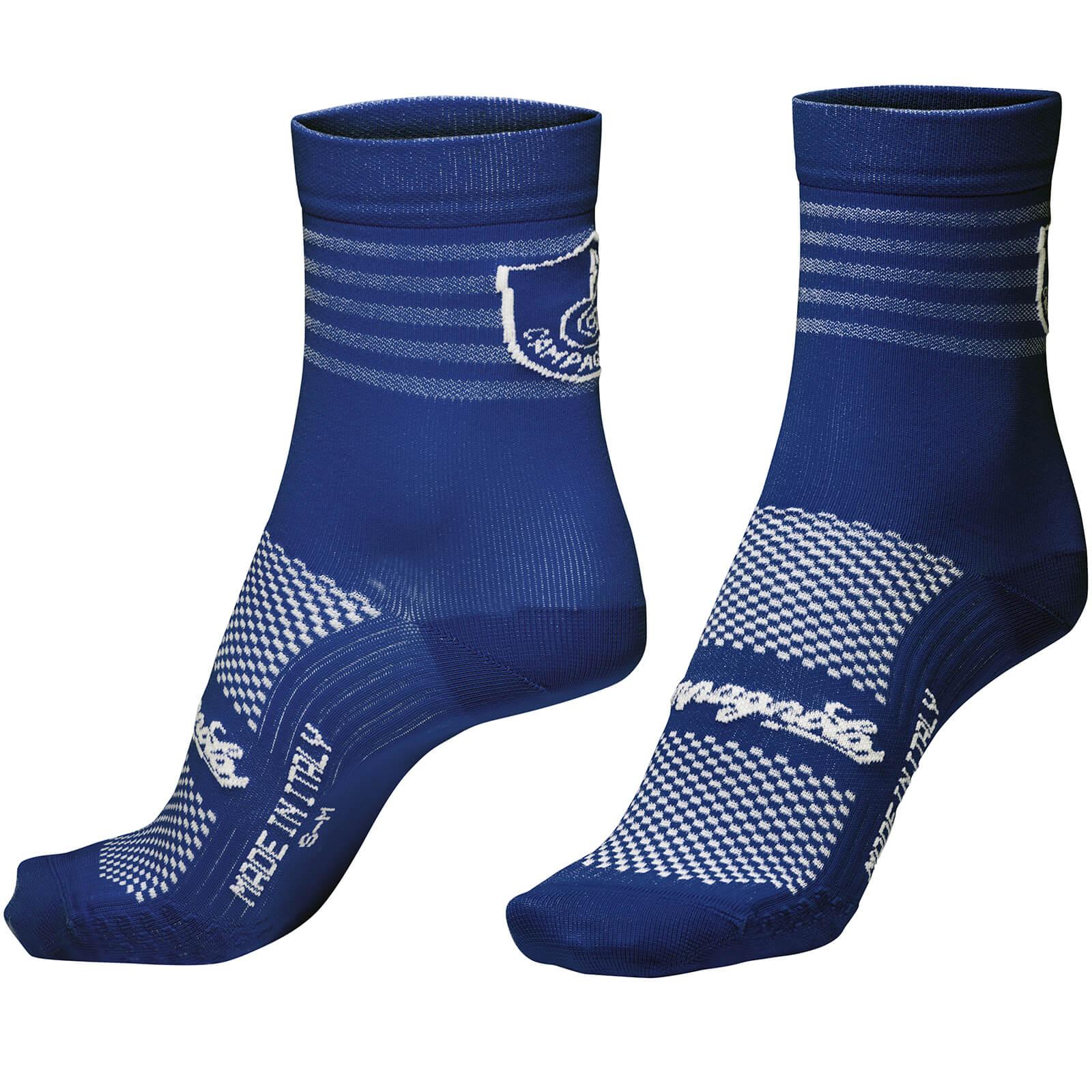 Nalini Campagnolo Litech Socks - S/M - Blue