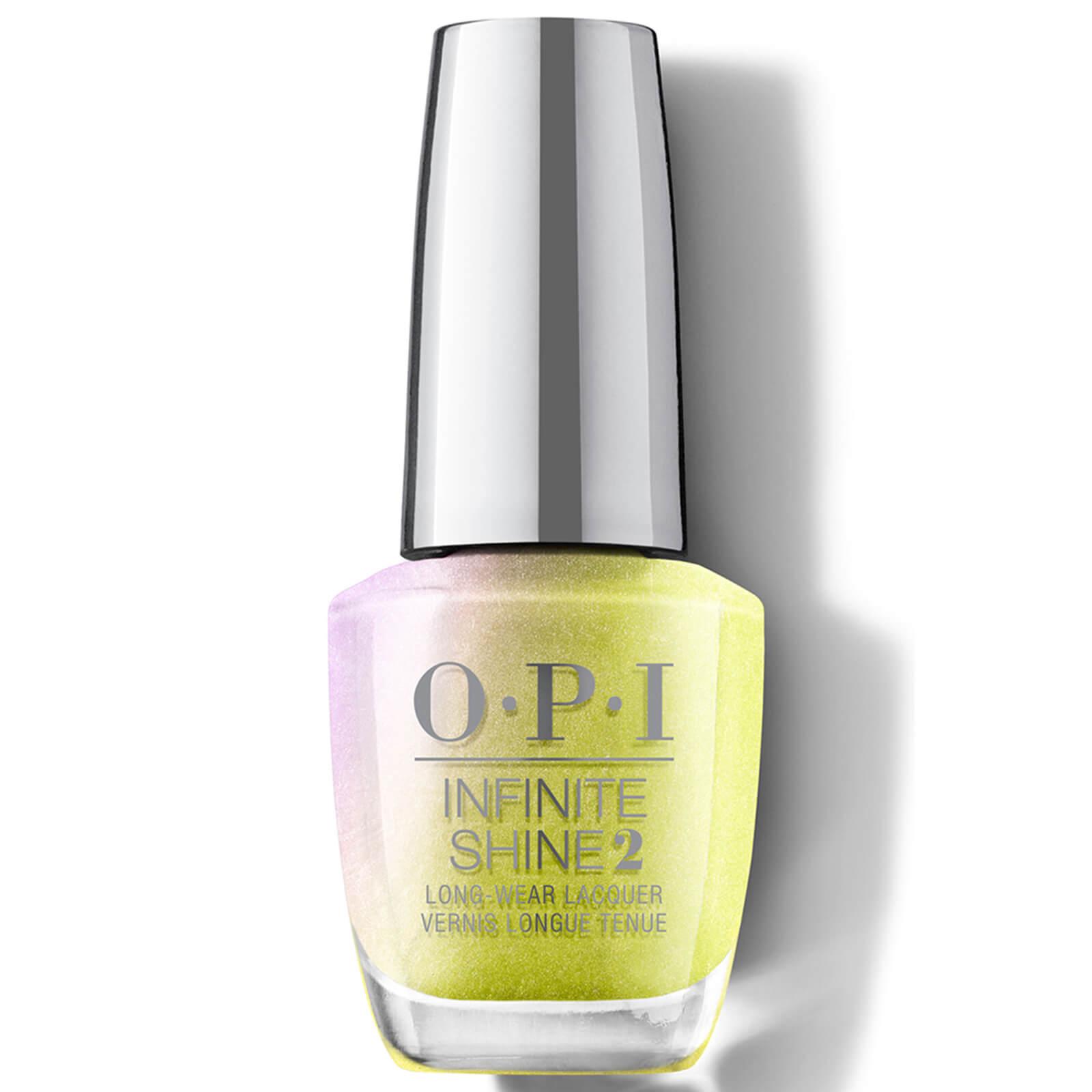 OPI Hidden Prism Limited Edition Infinite Shine Long Wear Nail Polish, Optical Illus-sun 15ml