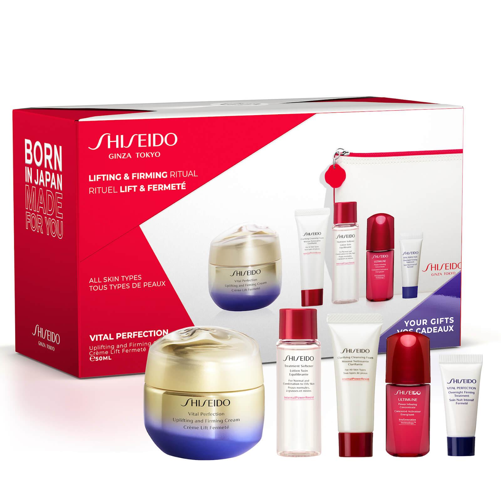 Купить Shiseido Vital Perfection Uplifting and Firming Cream Pouch Set