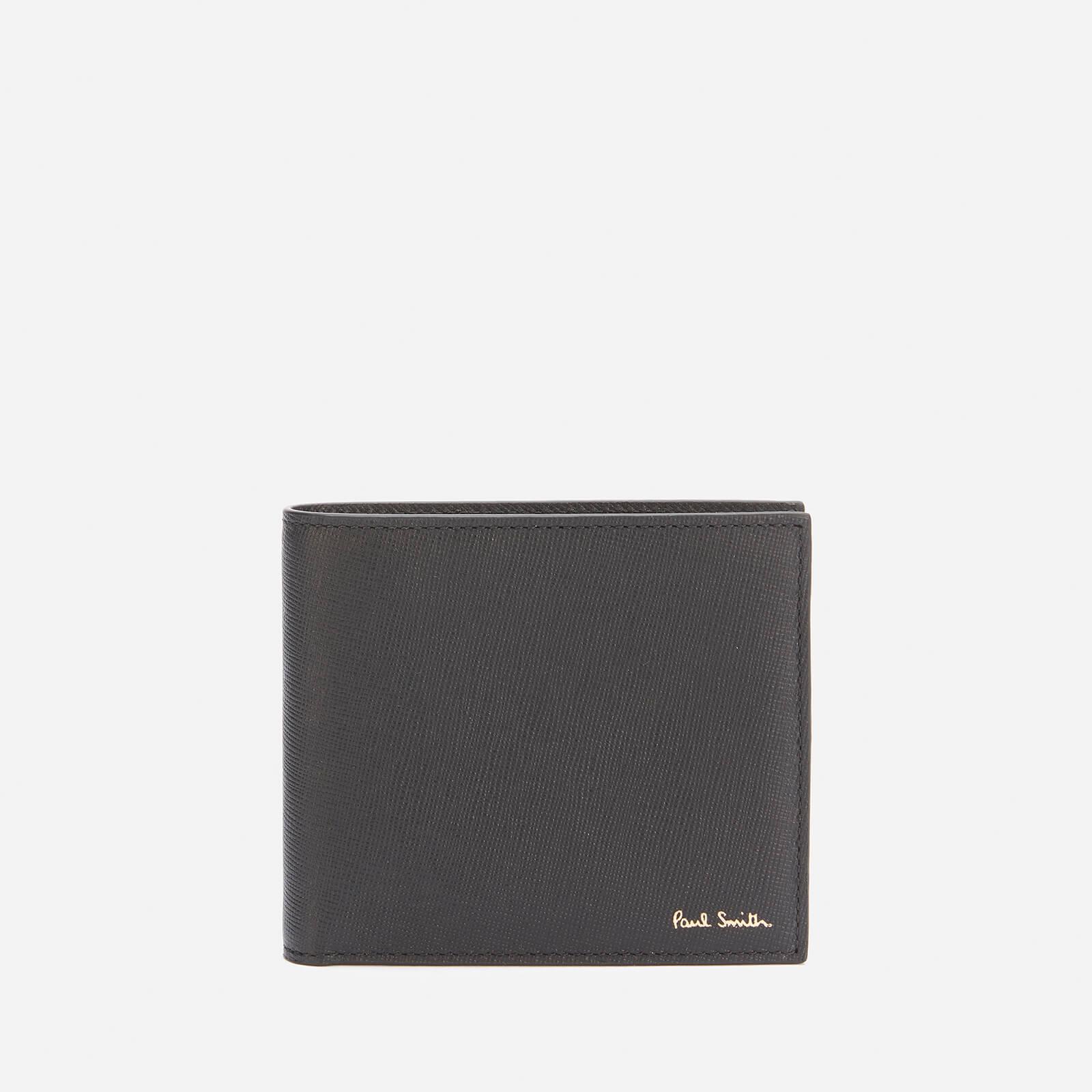 PS Paul Smith Men's Mini Printed Billfold Wallet - Black