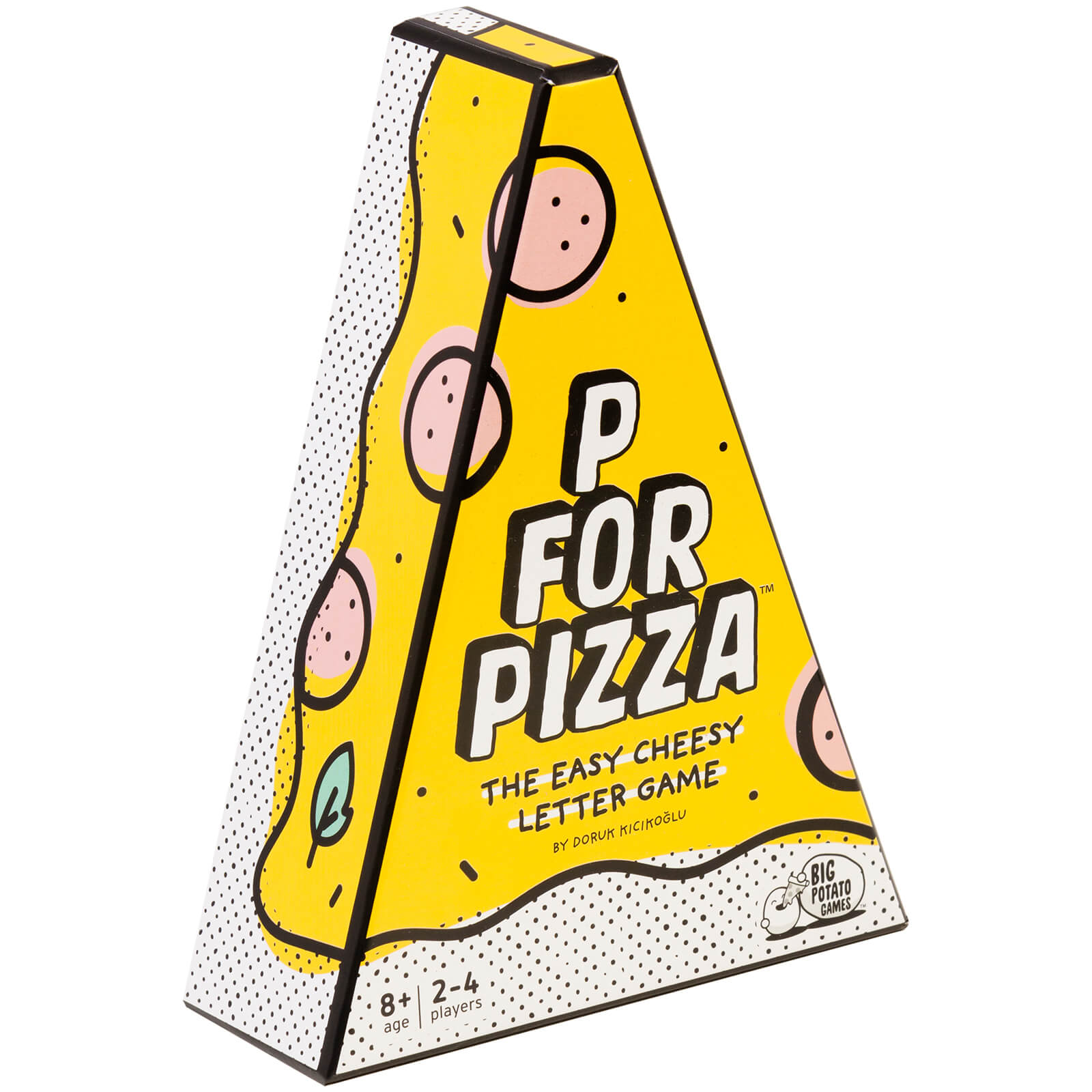 Image of P for Pizza - The Easy Cheesy Letter Game