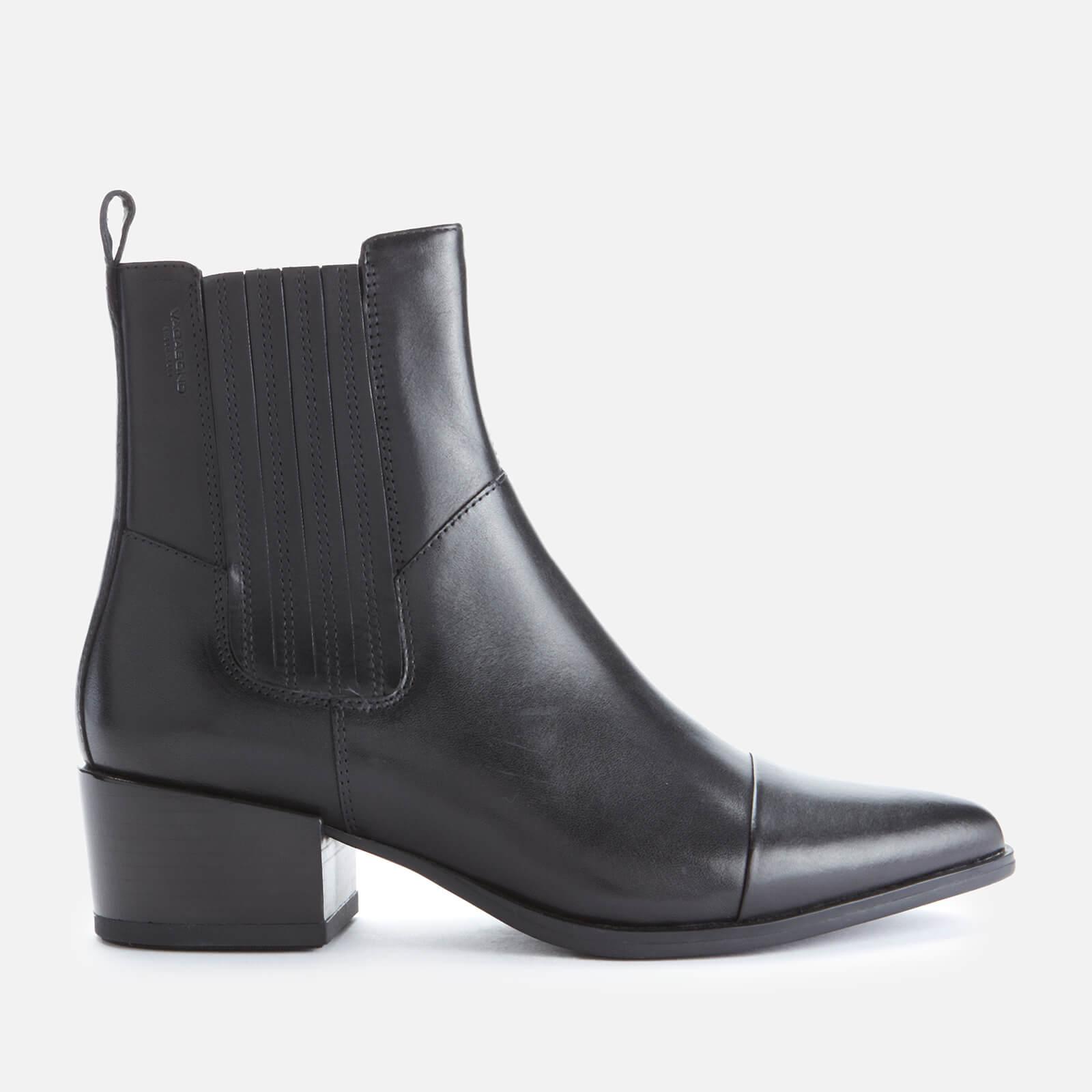 Vagabond Women's Marja Leather Western Boots - Black - Uk 4