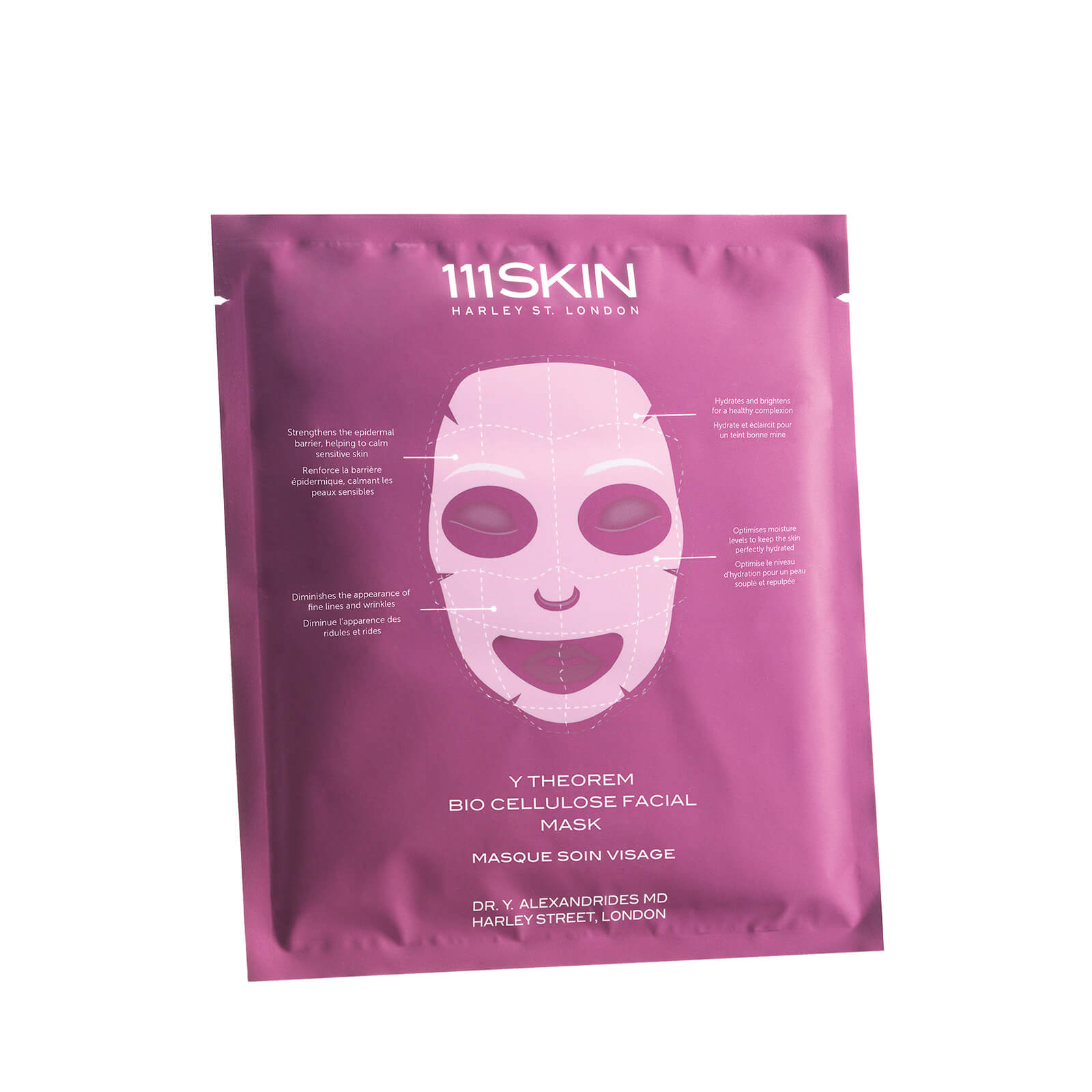 111skin Skincares Y THEOREM BIO CELLULOSE FACIAL MASK BOX