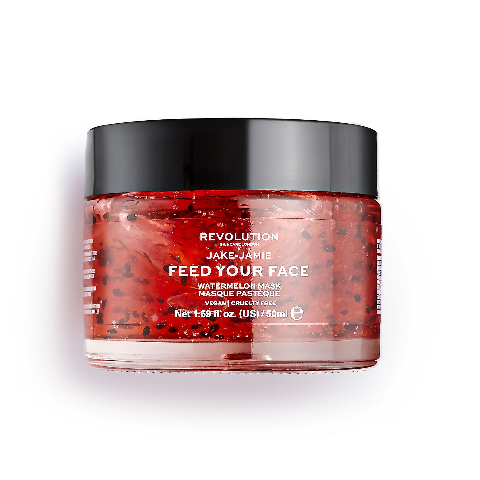 Watch a story about REVOLUTION SKINCARE X JAKE - JAMIE WATERMELON HYDRATING FACE MASK