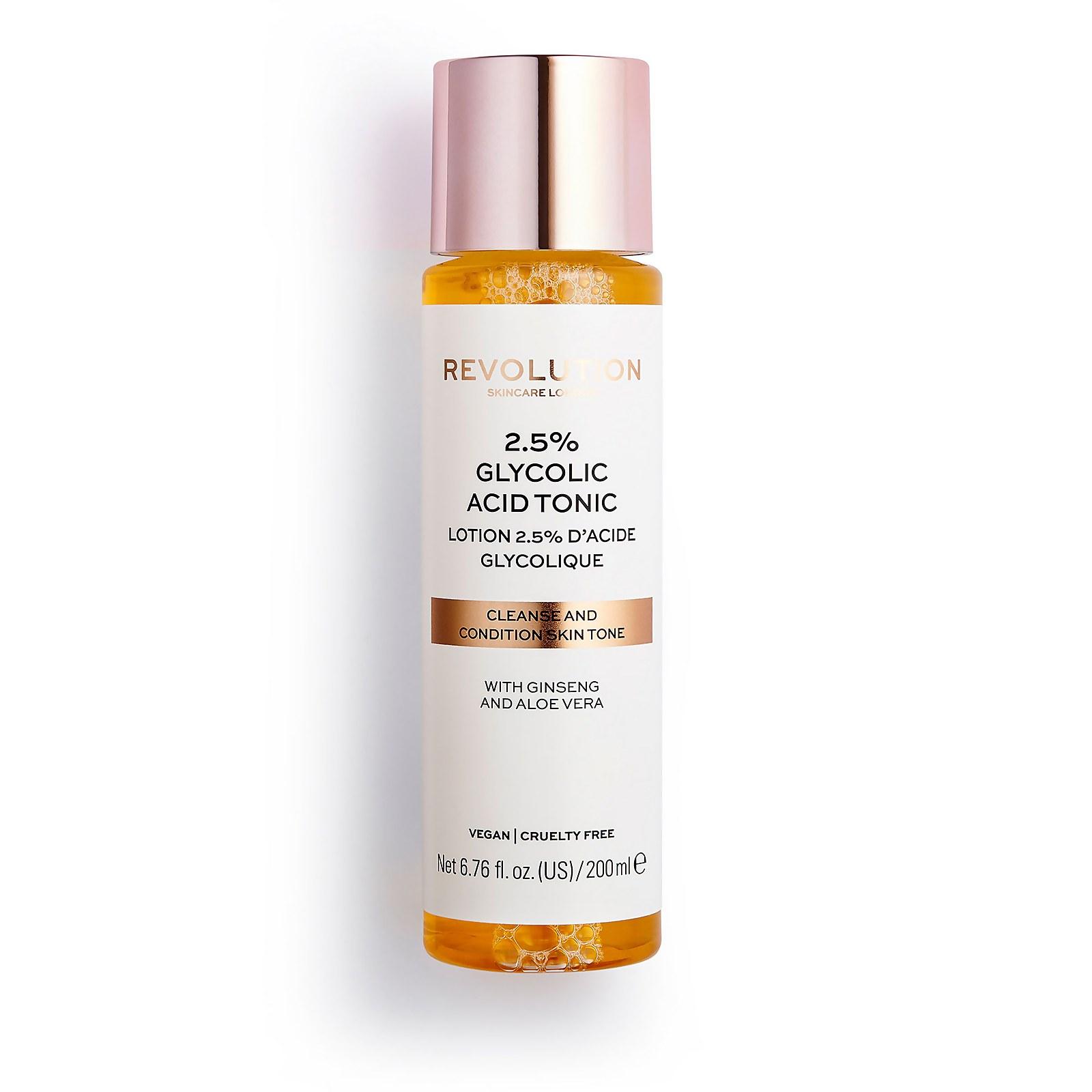Купить Revolution Skincare 2.5% Glycolic Acid Toner 200ml