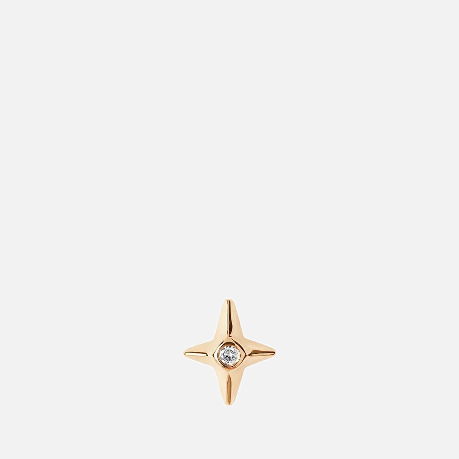 Maria Black Women's Diamond Star Labret - Gold