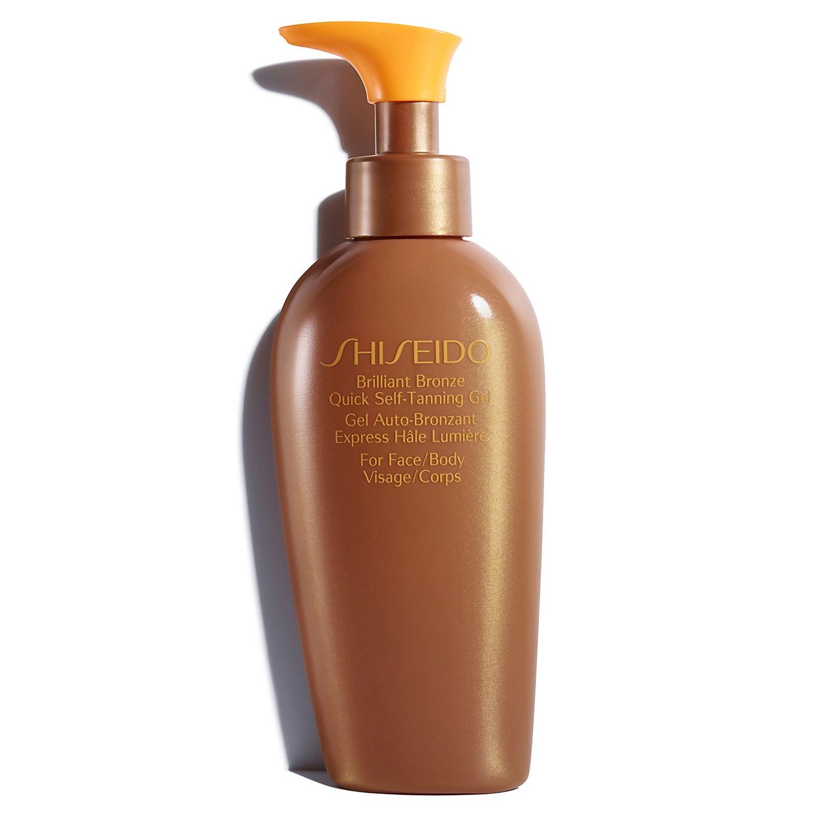 Купить Shiseido Brilliant Bronze Quick Self-Tanning Gel 20g