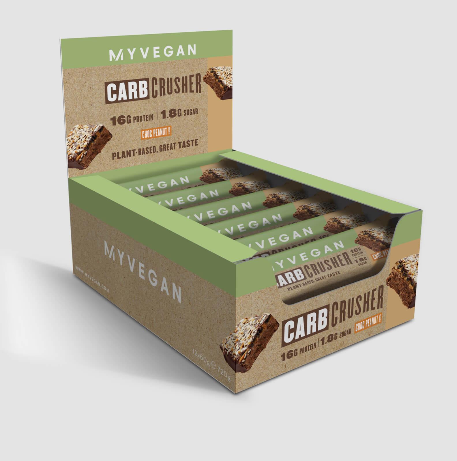 Купить Myprotein Vegan Carb Crusher (IND) - 12 x 60g - Арахис, Myprotein International