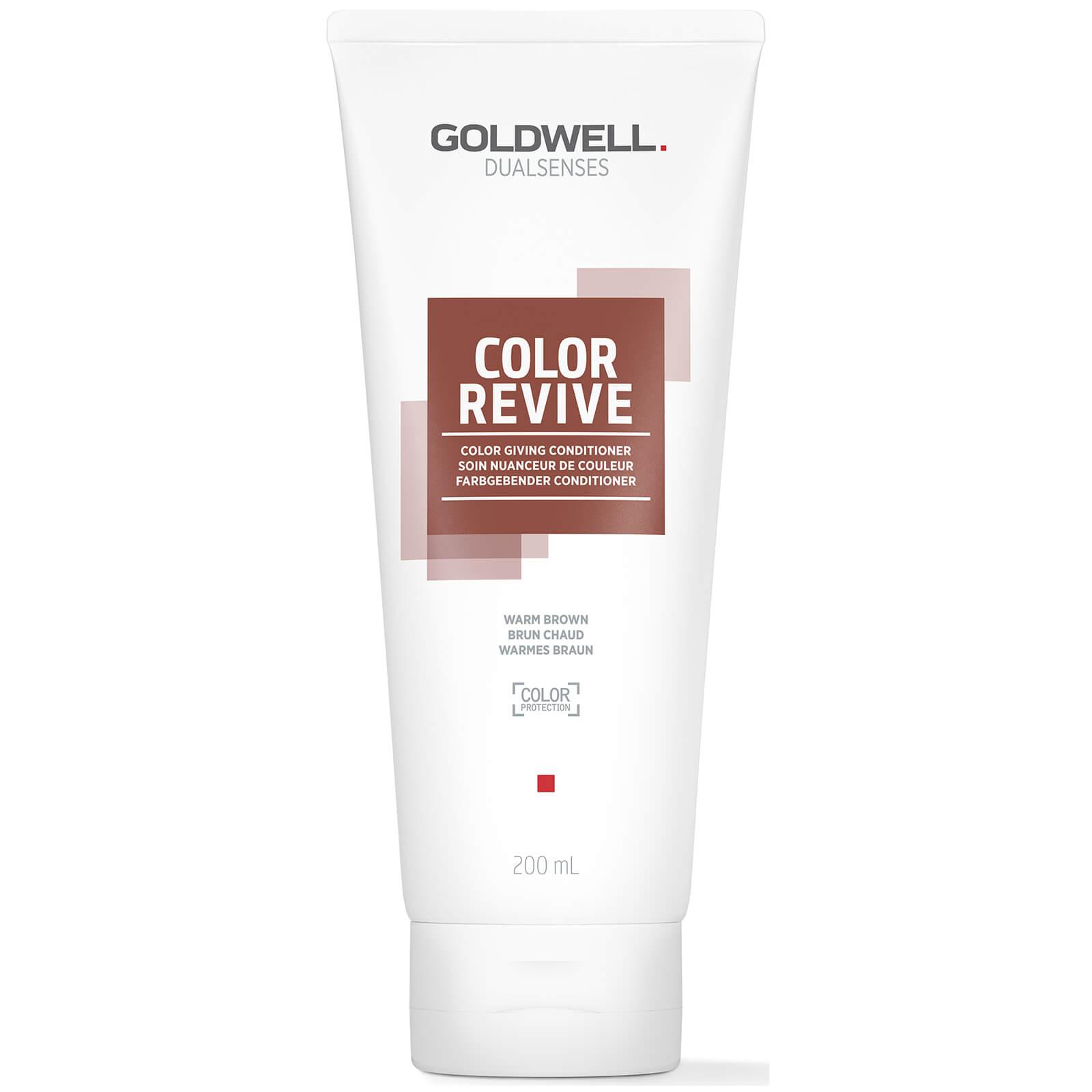 Купить Goldwell Dualsenses Color Revive Warm Brown 200ml
