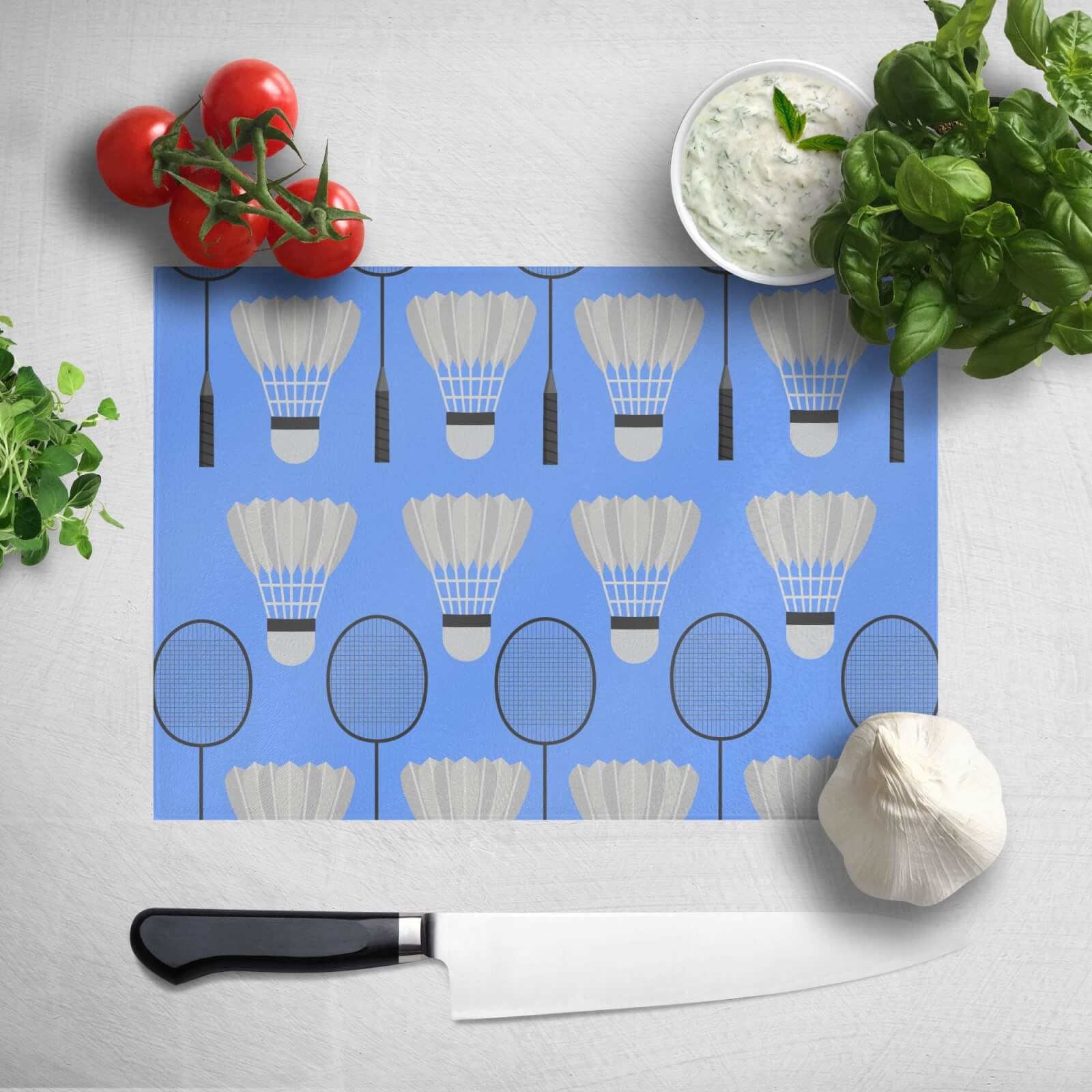 Badminton Chopping Board