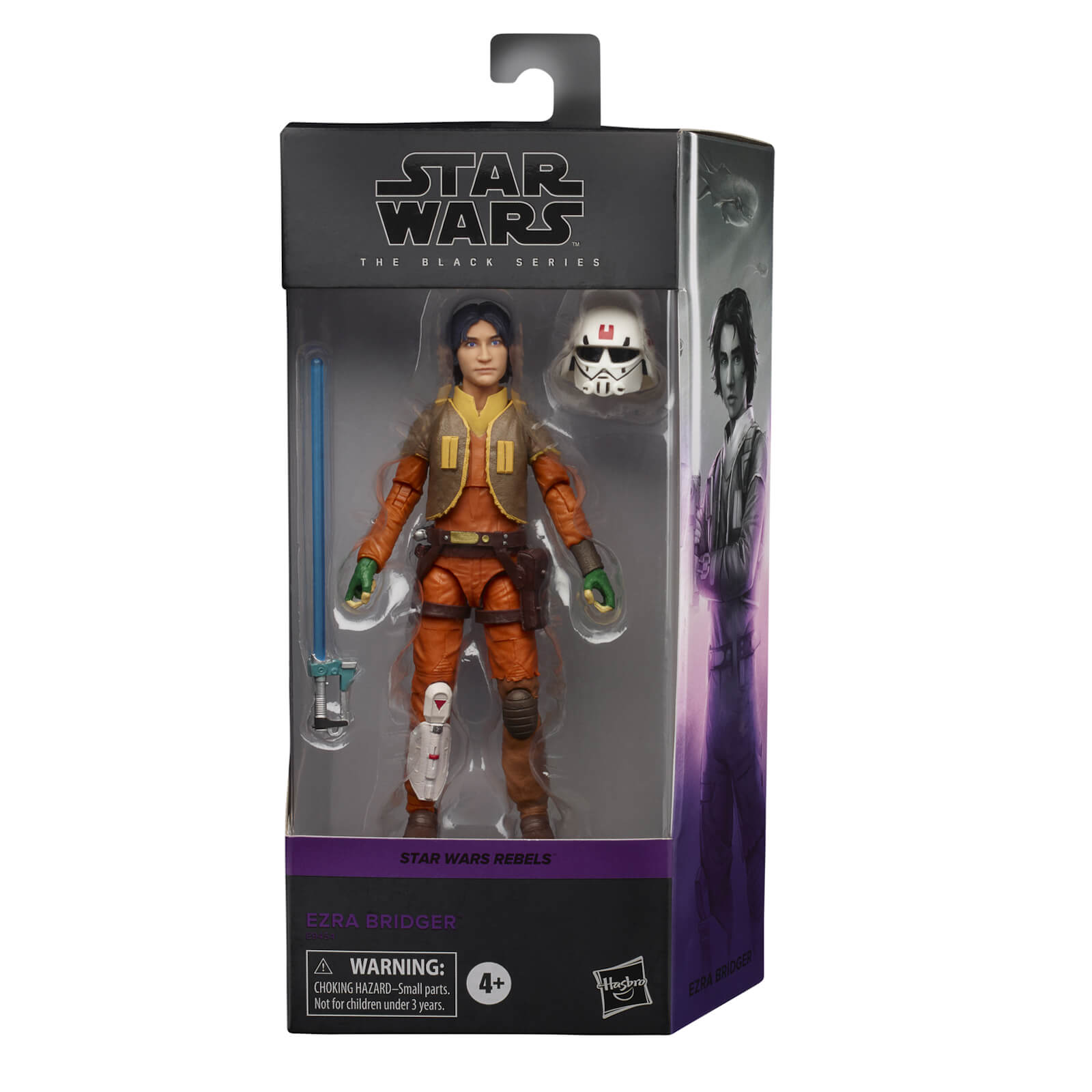 Hasbro Star Wars Black Series Rebels Ezra Bridger 6-Inch Scale Figure