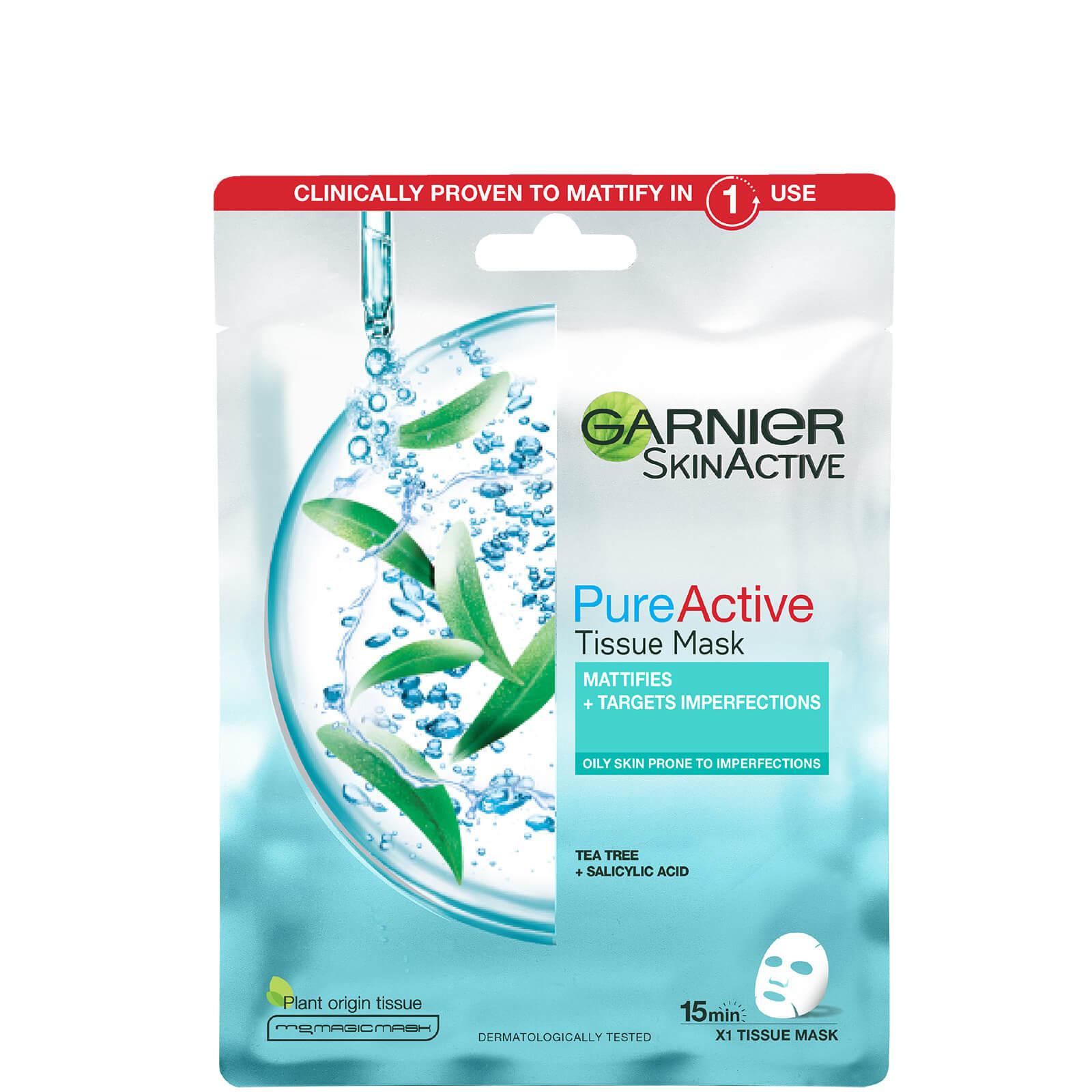Garnier Pure Active Tea Tree and Salicylic Acid Sheet Mask 23g